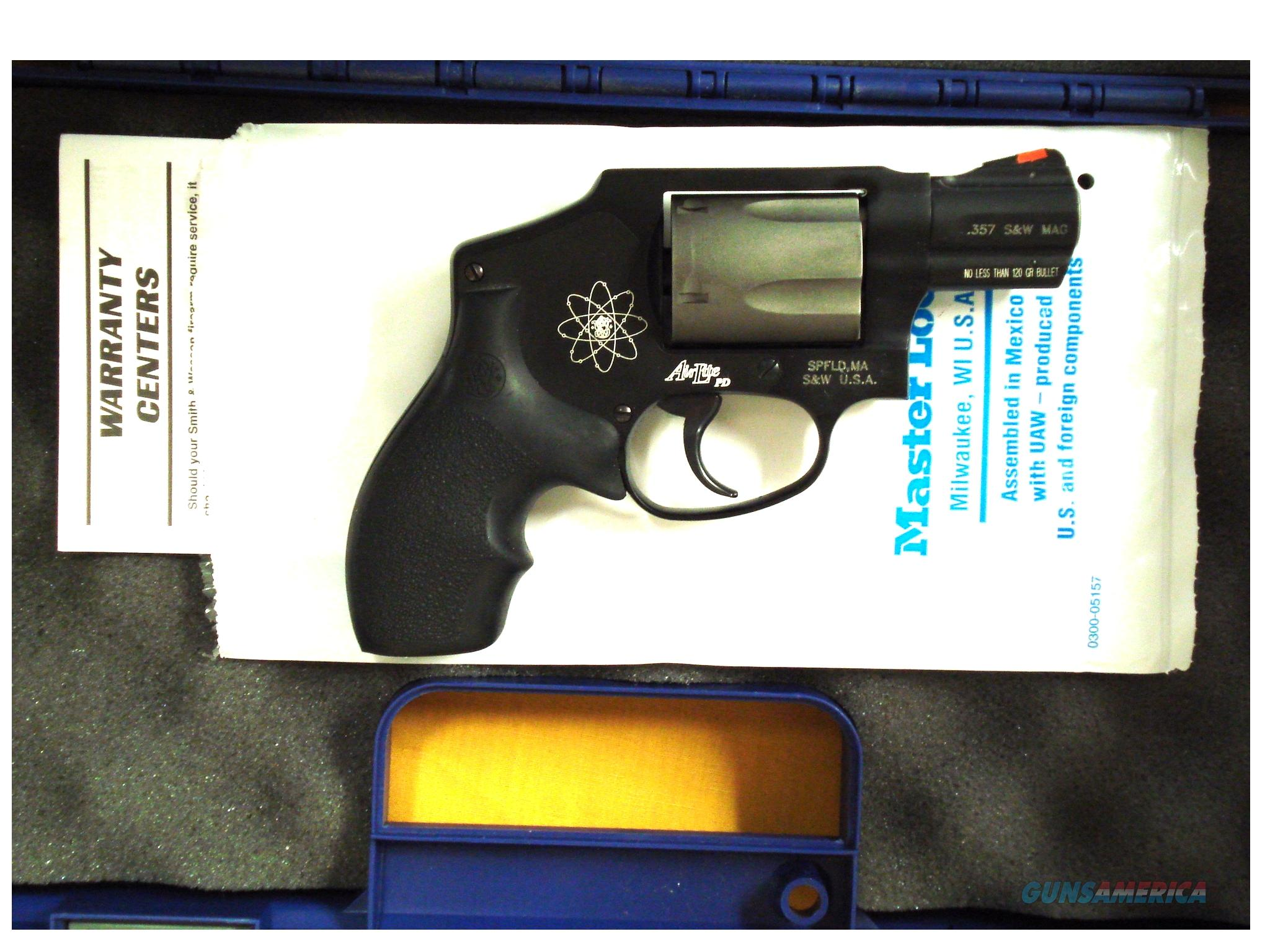 "S&W 340PD AIRLITE PD .357 MAG 2"" BARREL  Guns > Pistols > Smith & Wesson Revolvers > Full Frame Revolver"