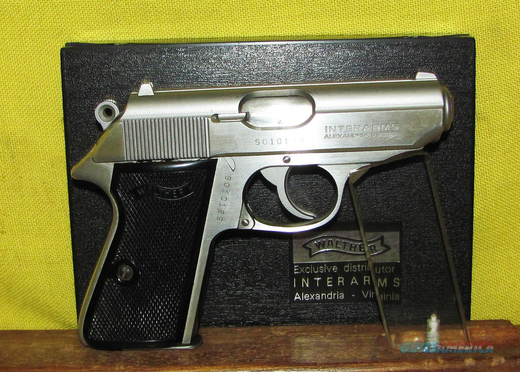 WALTHER PPK/S  Guns > Pistols > Walther Pistols > Post WWII > PPK Series