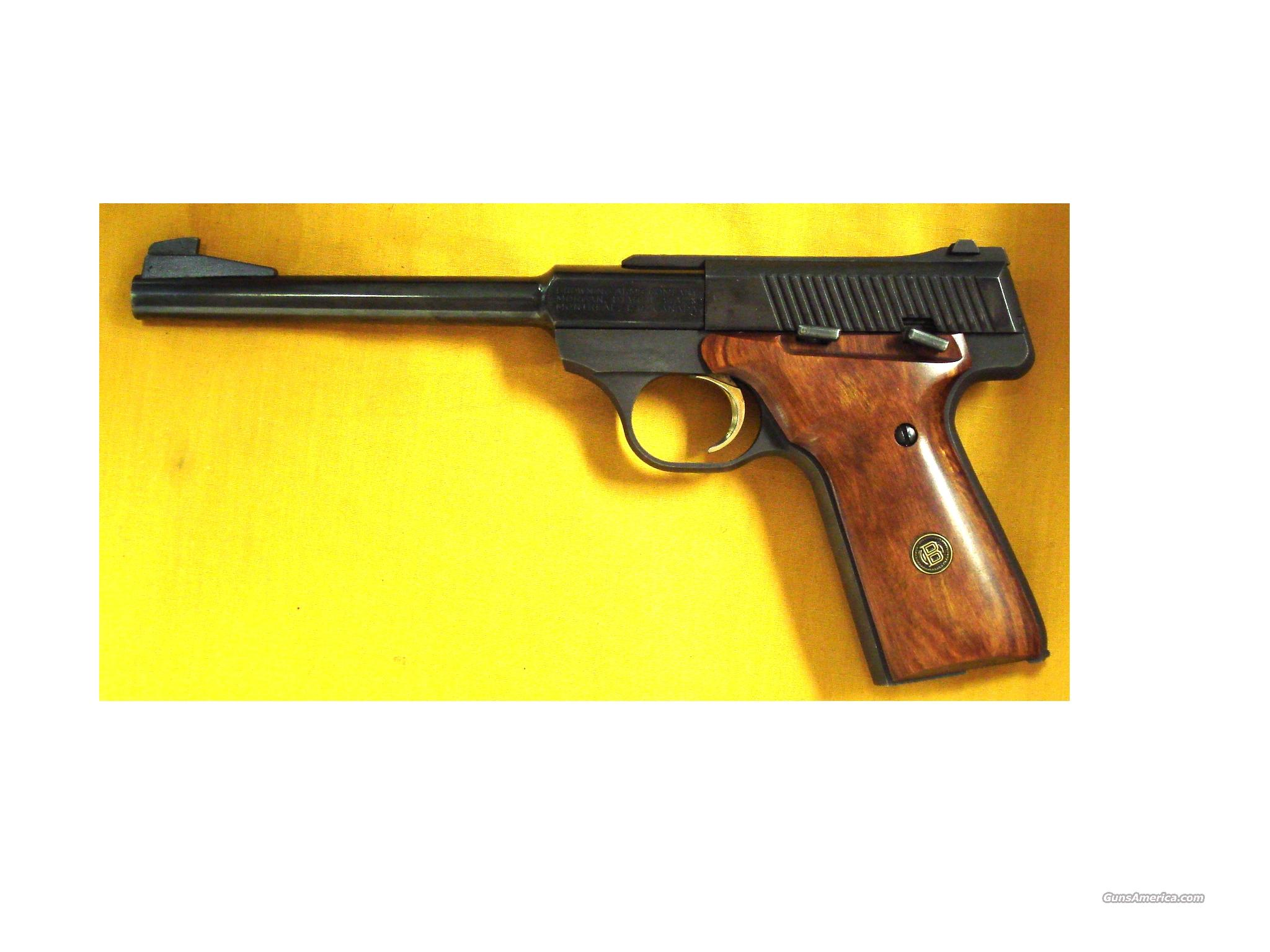 "BROWNING CHALLENGER .22LR 6 3/4""BBL  Guns > Pistols > Browning Pistols > Other Autos"