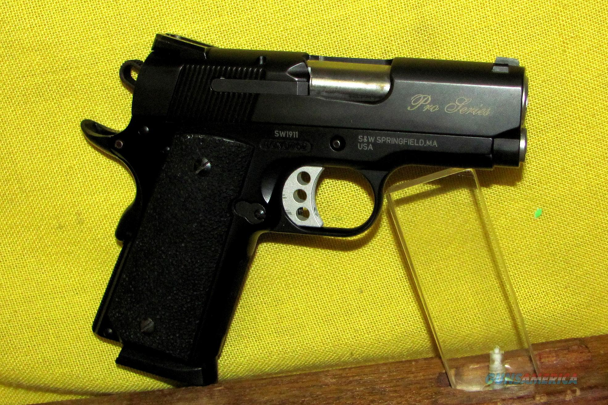 S&W SW1911 (PRO SERIES)  Guns > Pistols > Smith & Wesson Pistols - Autos > Alloy Frame