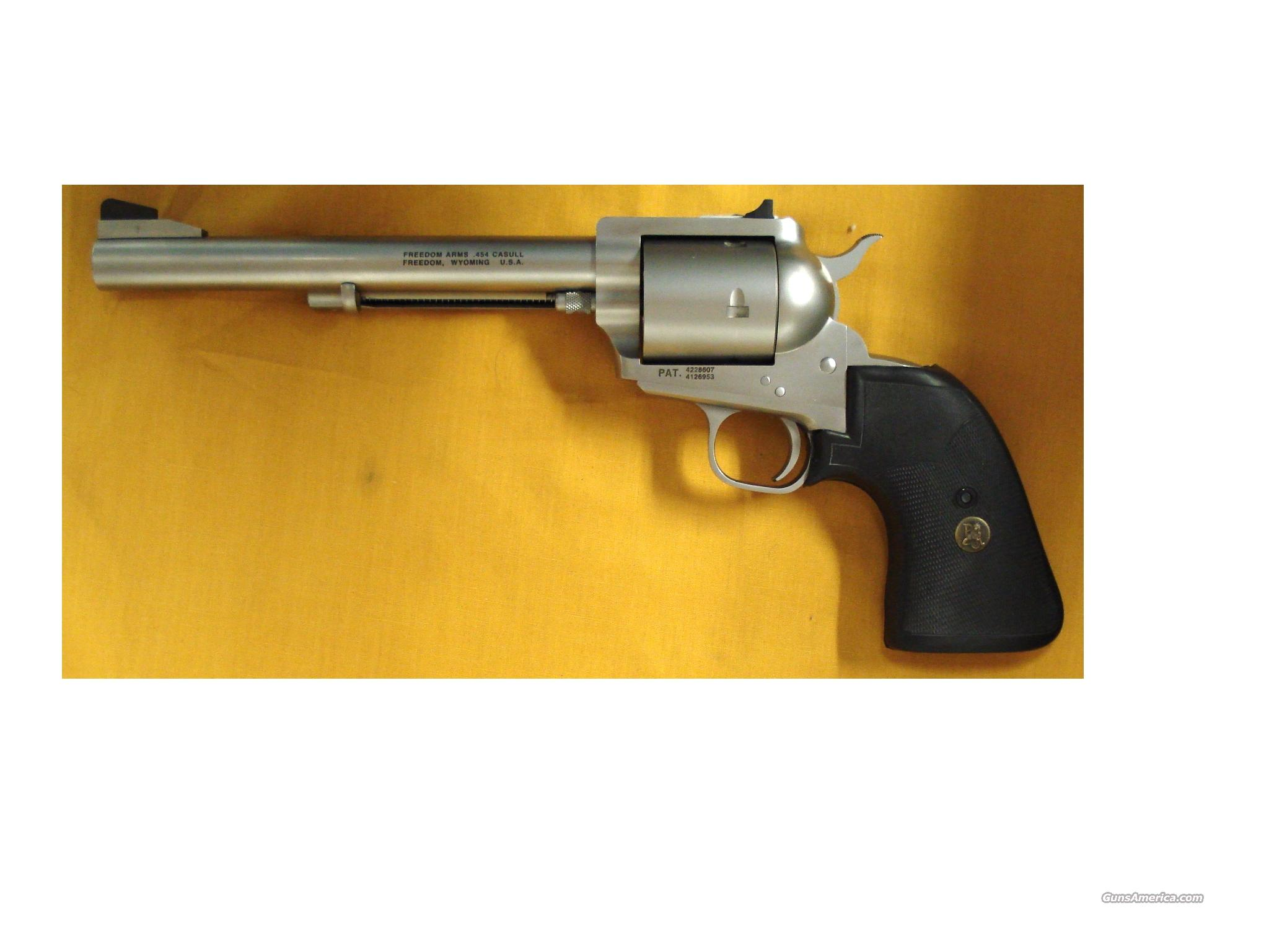 "FREEDOM ARMS 454 CASULL 7 1/2"" BBL   Guns > Pistols > Freedom Arms Pistols"