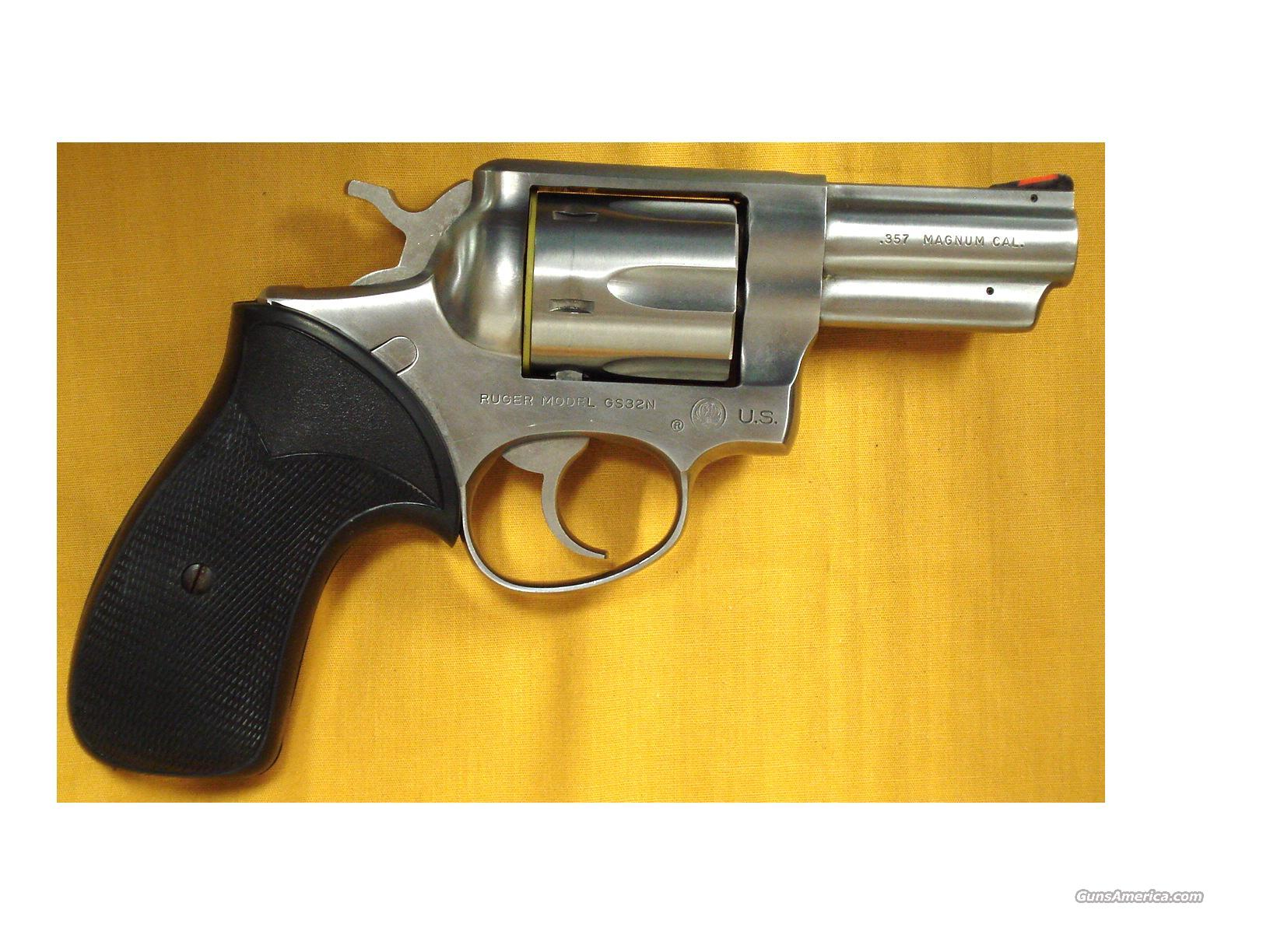 RUGER POLICE SERVICE 6 US MARKED  Guns > Pistols > Ruger Double Action Revolver > Security Six Type