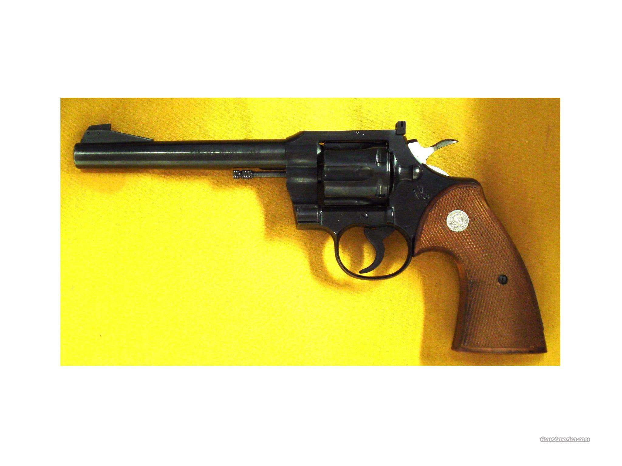 "COLT OFFICERS MODEL MATCH .22LR 6""BBL  Guns > Pistols > Colt Double Action Revolvers- Modern"