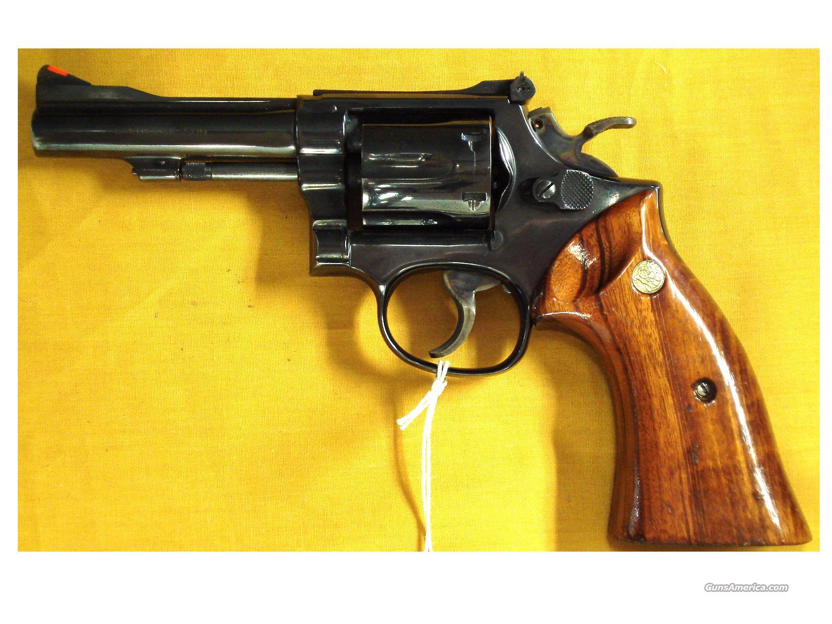 "S&W 15-3 .38SPL. 4""PINNED BARREL  Guns > Pistols > Smith & Wesson Revolvers > Full Frame Revolver"
