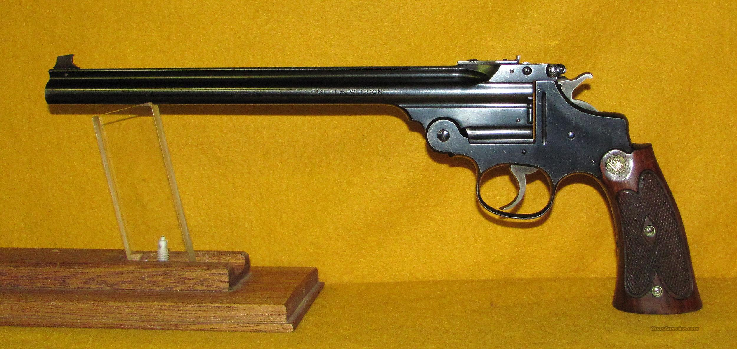 S&W PERFECTED SINGLE SHOT  Guns > Pistols > Smith & Wesson Revolvers > Pre-1945