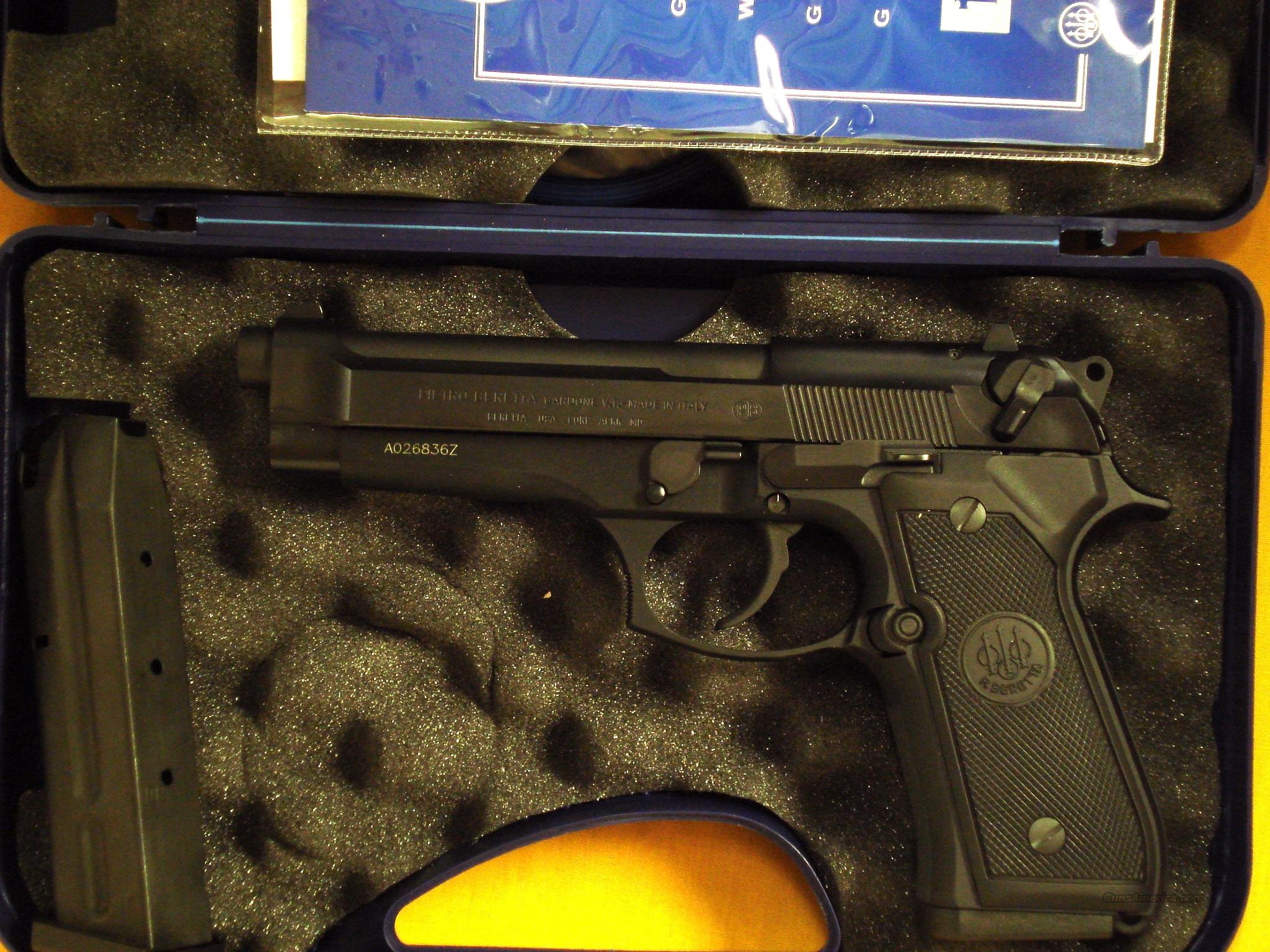 "BERETTA 92FS 9MM 4 7/8"" BARREL  Guns > Pistols > Beretta Pistols > Model 92 Series"