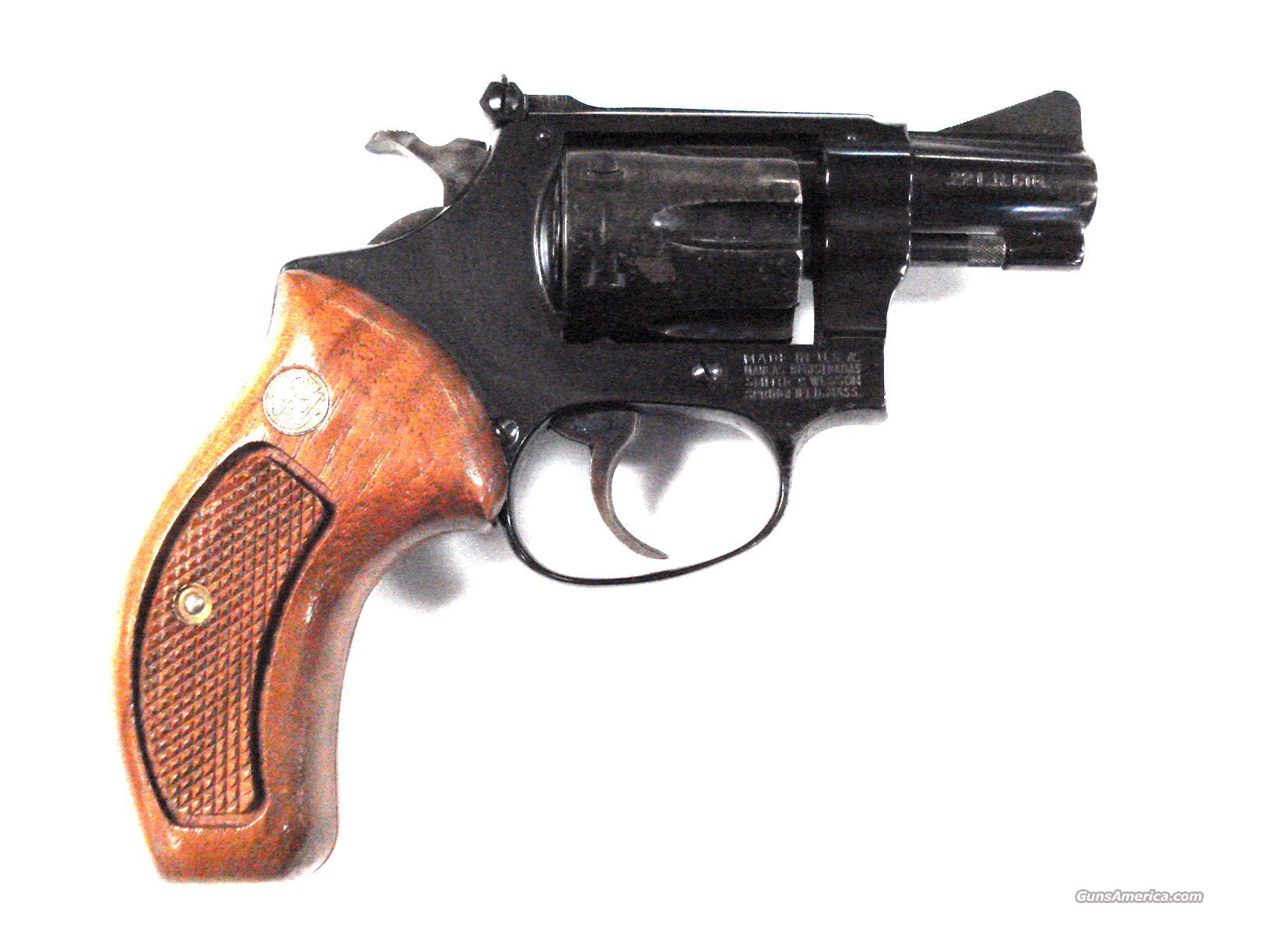 "S & W MODEL 34-1 2"" .22LR REVOLVER  Guns > Pistols > Smith & Wesson Revolvers > Full Frame Revolver"