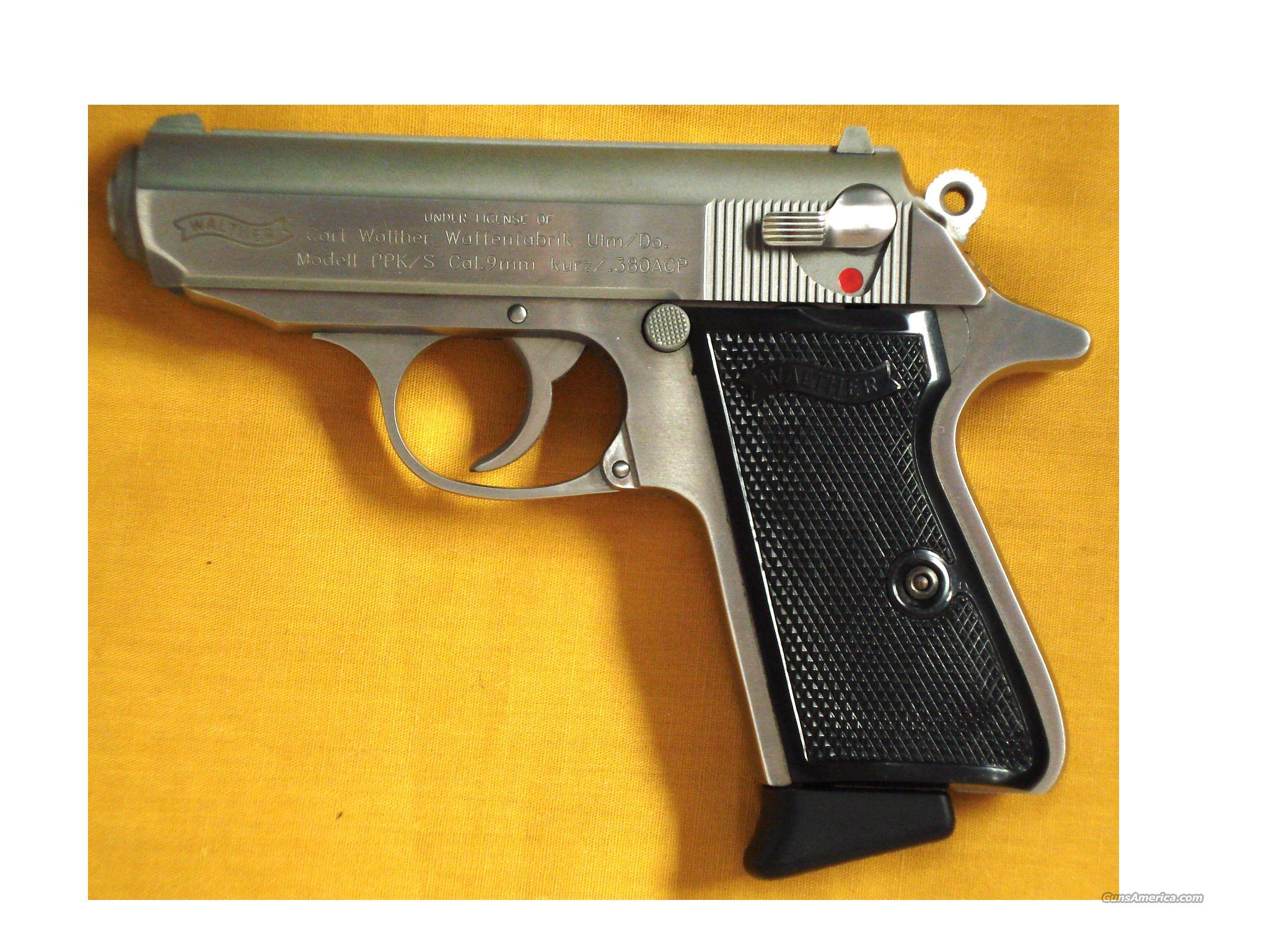 "WALTHER PPKS .380 3 1/4"" BARREL  Guns > Pistols > Walther Pistols > Post WWII > PPK Series"