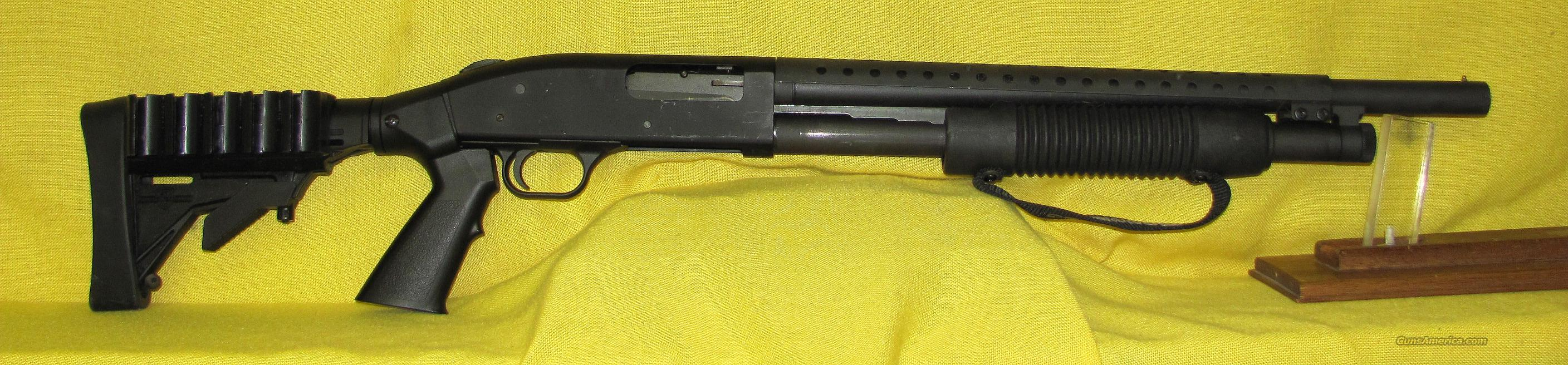 "MOSSBERG 500A TACTICAL 12 GA 18"" BBL  Guns > Shotguns > Mossberg Shotguns > Pump > Tactical"