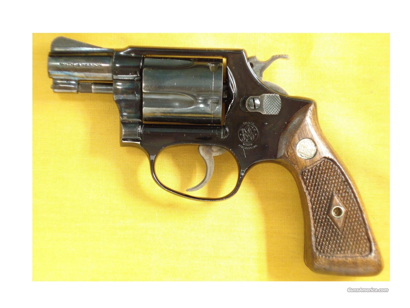 "S&W 37 AIRWEIGHT .38SPL 2""BBL  Guns > Pistols > Smith & Wesson Revolvers > Full Frame Revolver"