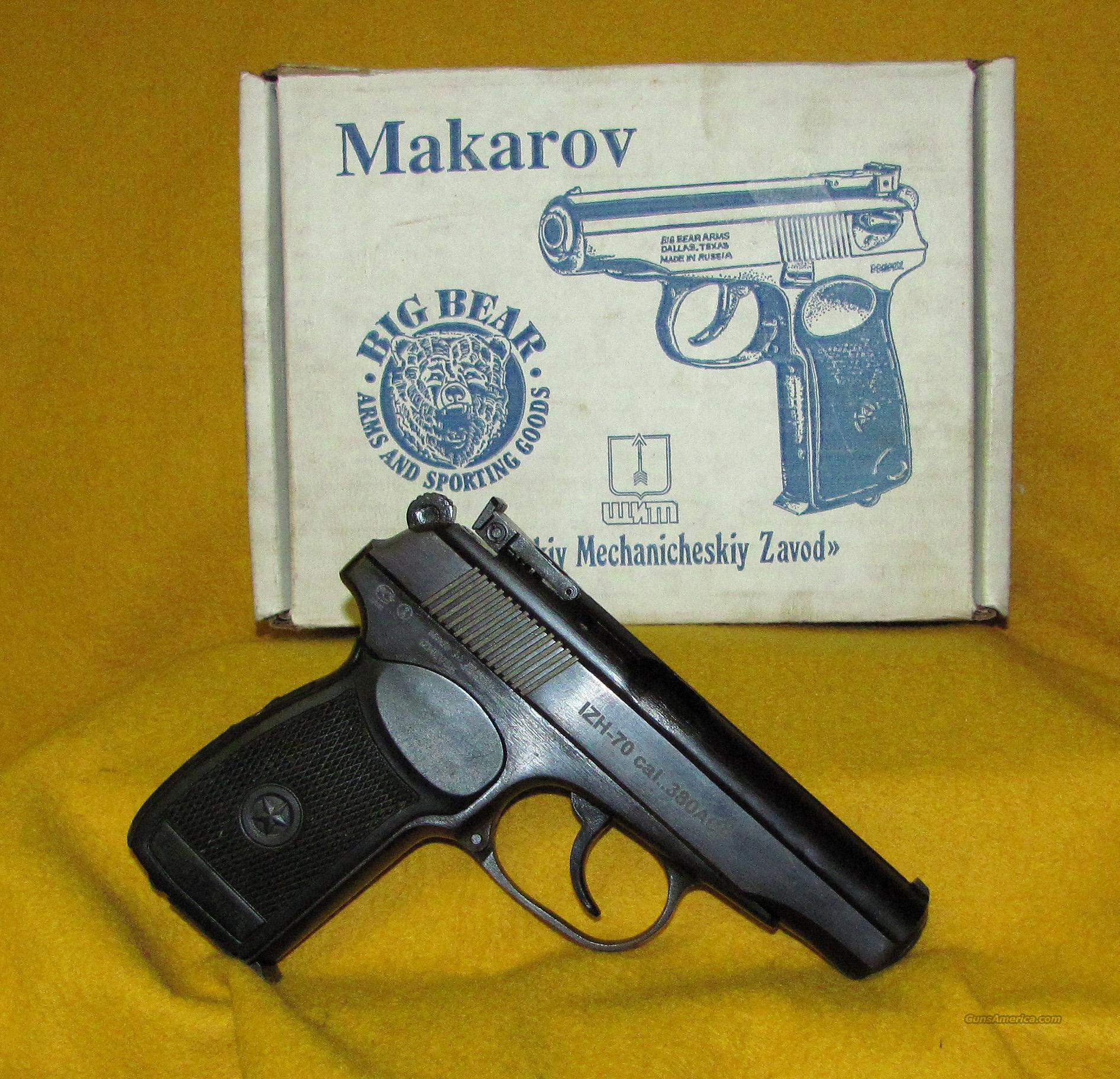 MAKAROV ( BIG BEAR ARMS ) IZH70  Guns > Pistols > Military Misc. Pistols Non-US