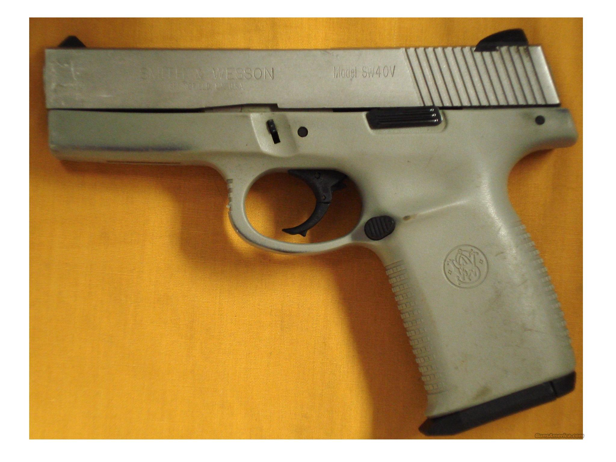 "S&W SW40V .40S&W 4"" BARREL  Guns > Pistols > Smith & Wesson Pistols - Autos > Polymer Frame"
