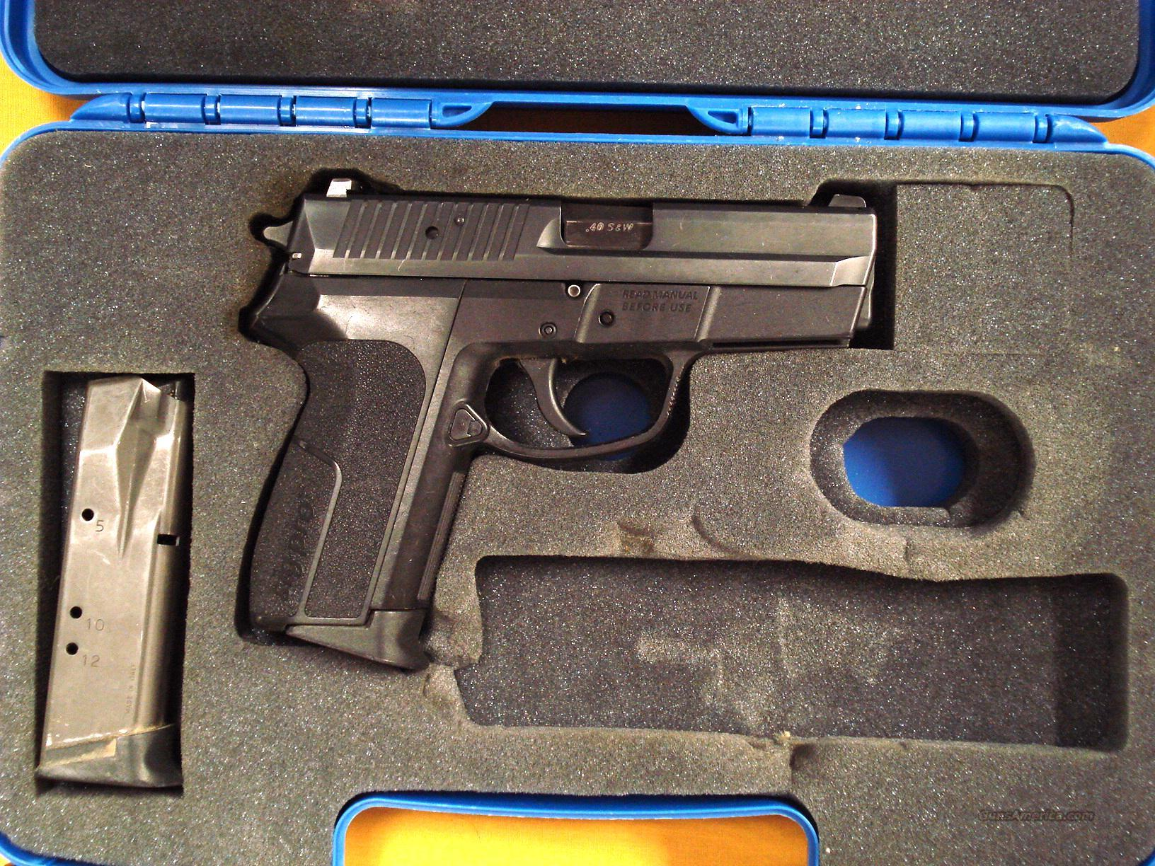 SIG SP2340 .40S&W DOUBLE ACTION ONLY  Guns > Pistols > Sig - Sauer/Sigarms Pistols > Other