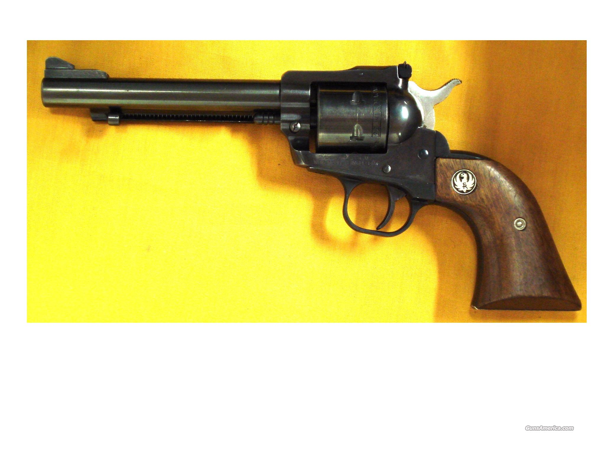 "RUGER NM SINGLE SIX .22MAG 5 1/2"" BBL  Guns > Pistols > Ruger Single Action Revolvers > Single Six Type"
