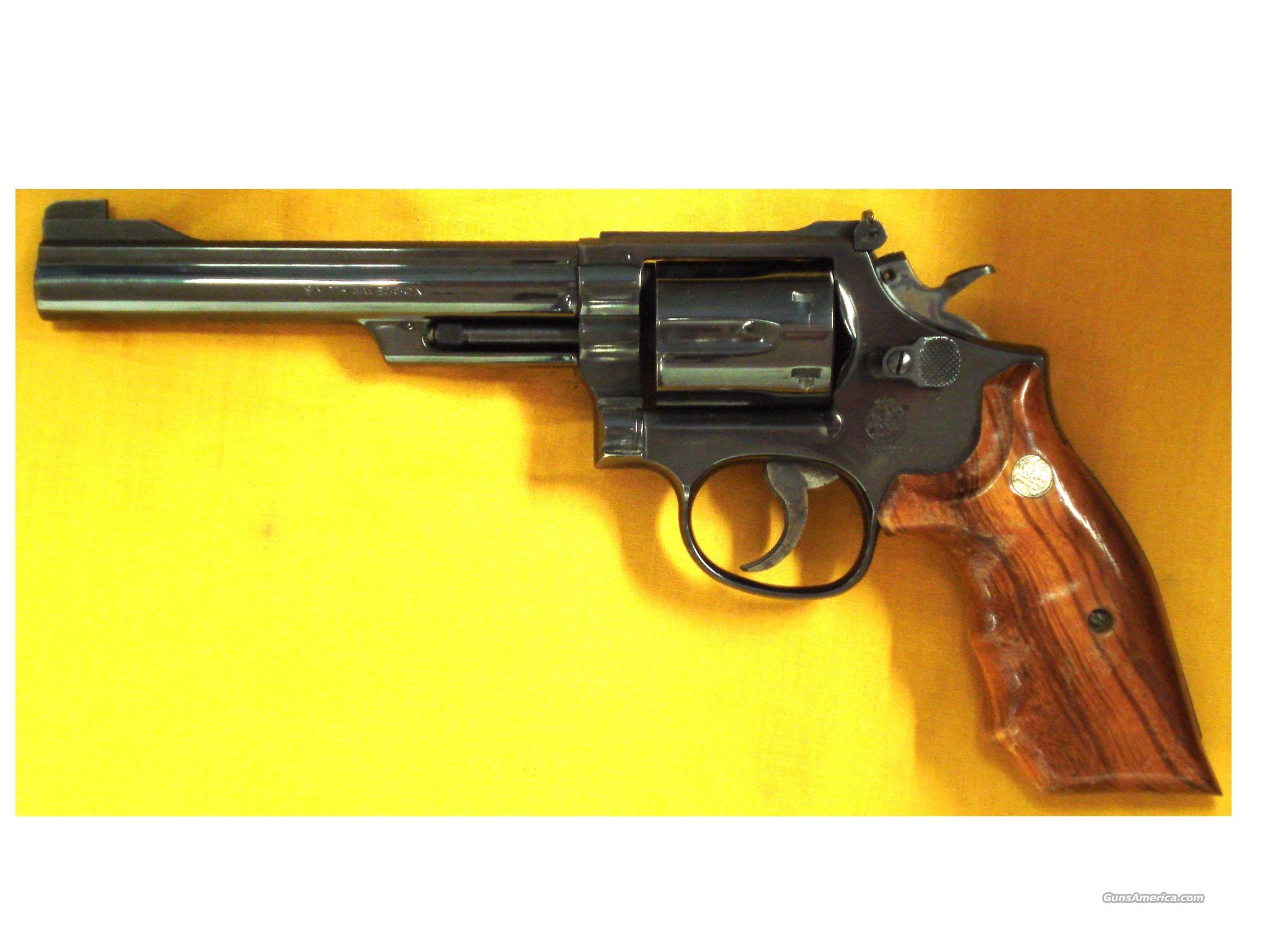 "S&W 19-4 .357 MAGNUM 6"" BARREL  Guns > Pistols > Smith & Wesson Revolvers > Full Frame Revolver"