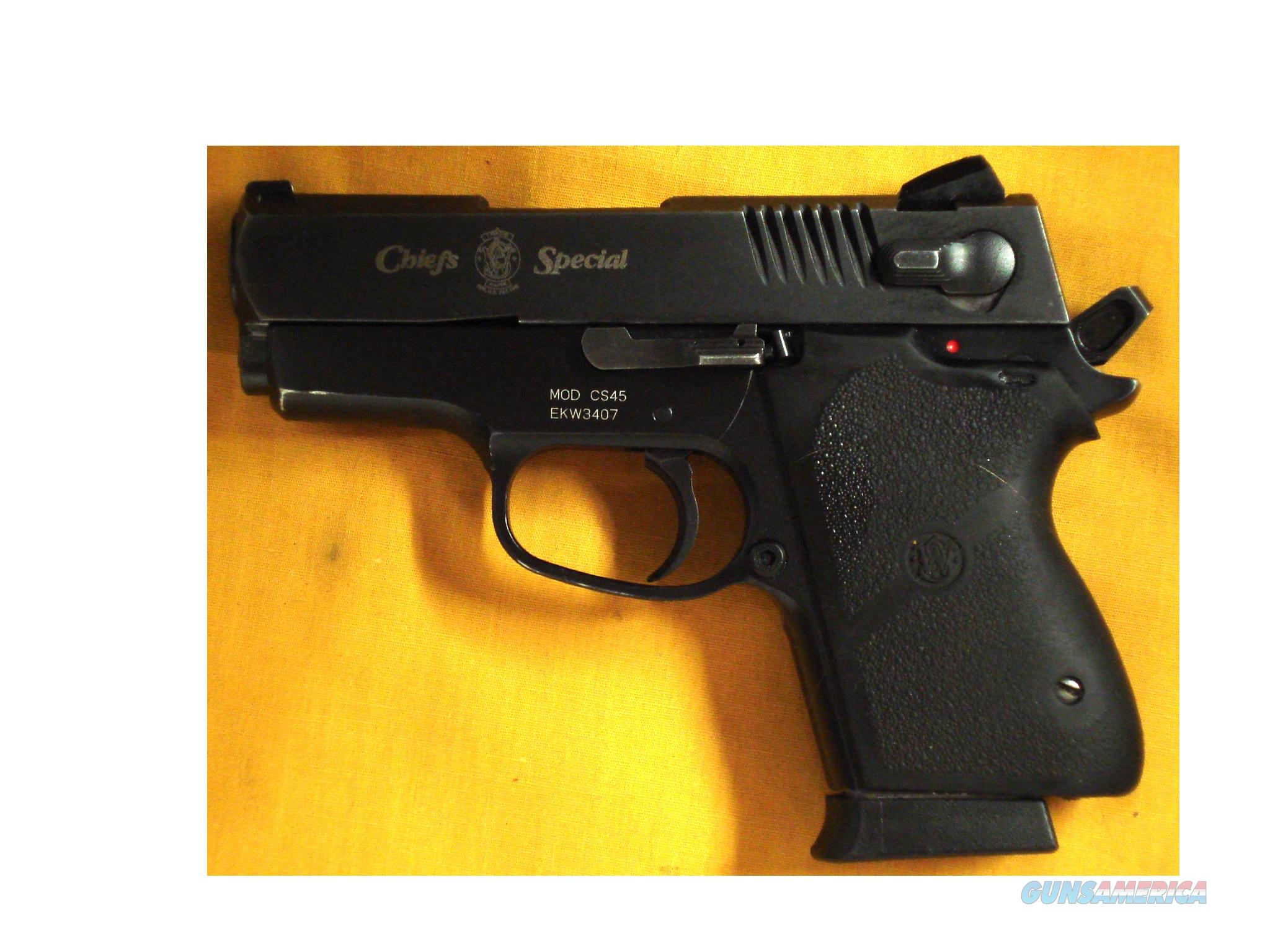 "S&W CS45 CHIEFS SPECIAL .45ACP. 3"" BARREL  Guns > Pistols > Smith & Wesson Pistols - Autos > Alloy Frame"