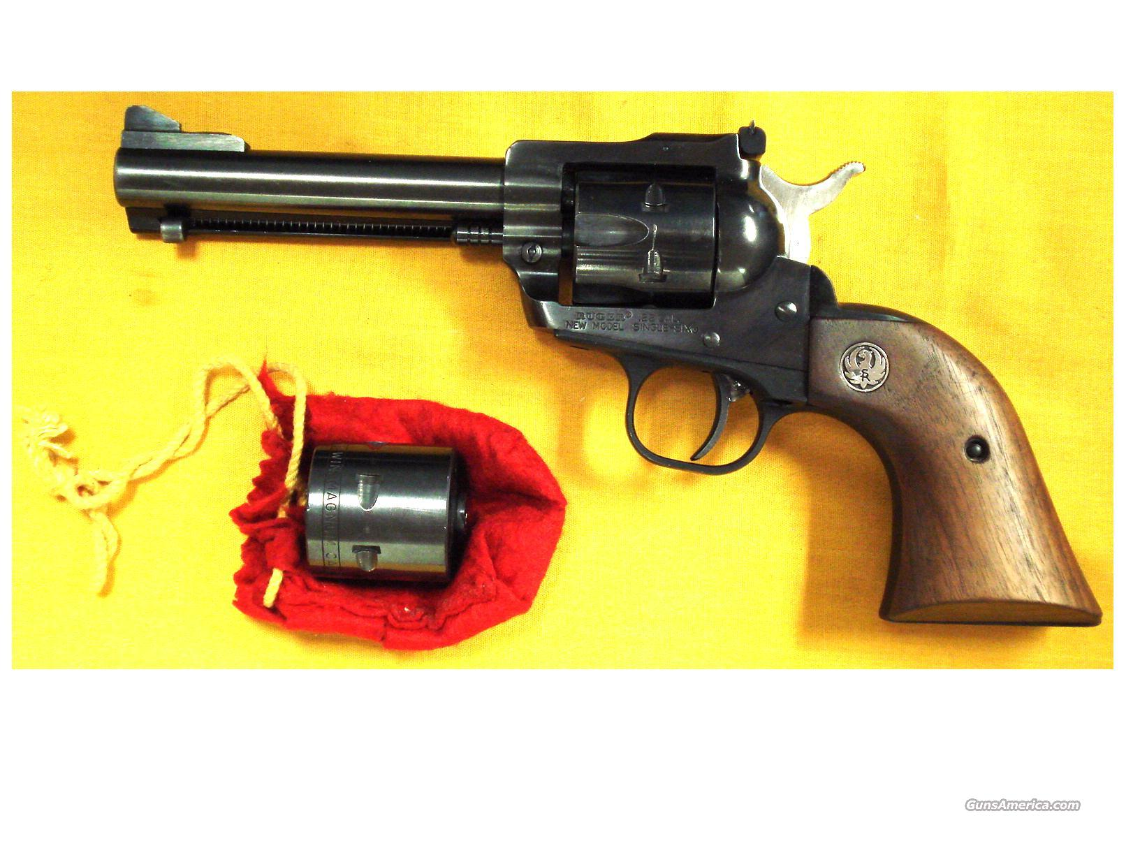 "RUGER SINGLE SIX .22MAG/22LR 4 1/2""BBL  Guns > Pistols > Ruger Single Action Revolvers > Single Six Type"