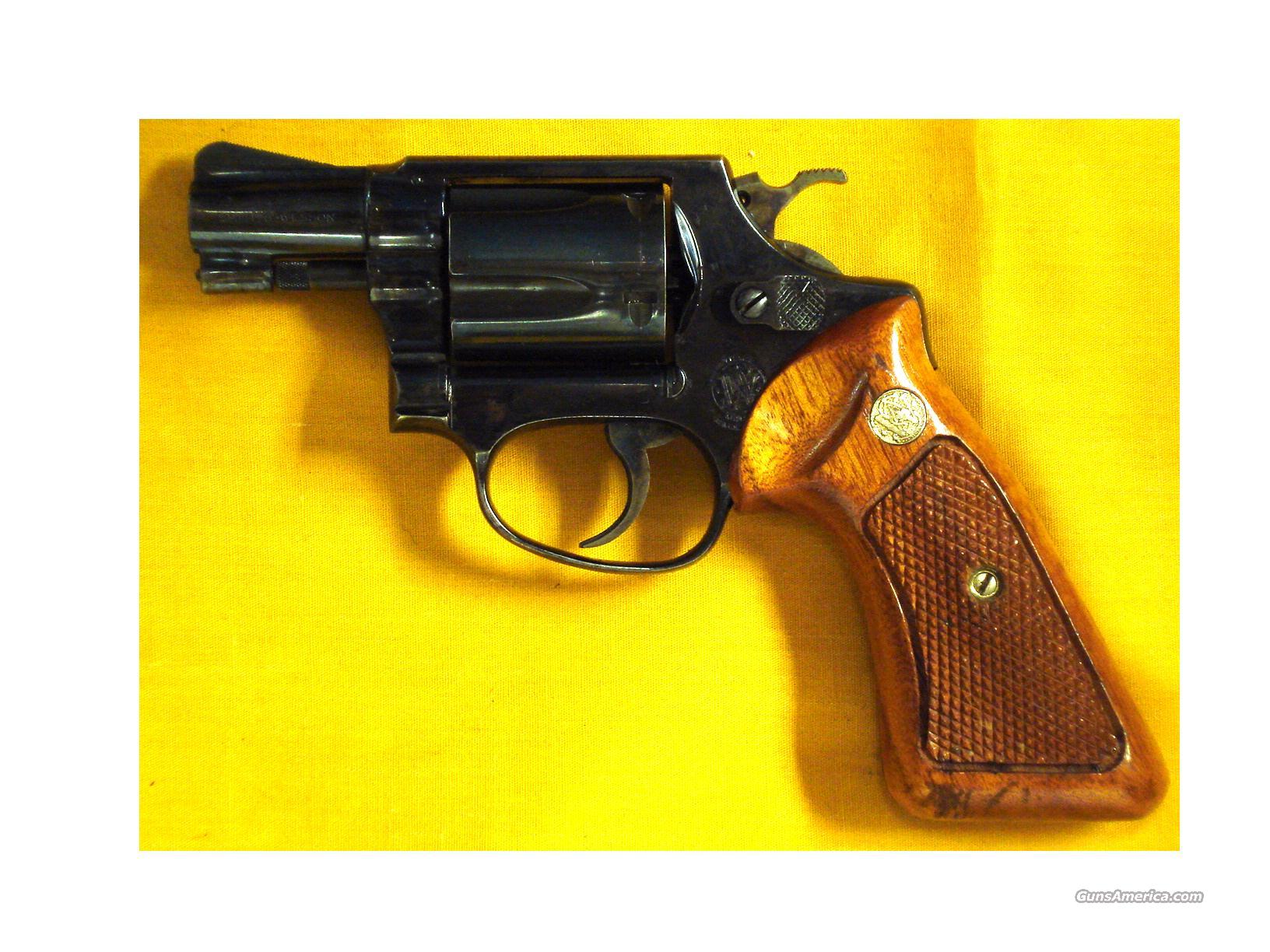 "S&W 36 .38 SPL.2"" PINNED BARREL  Guns > Pistols > Smith & Wesson Revolvers > Full Frame Revolver"