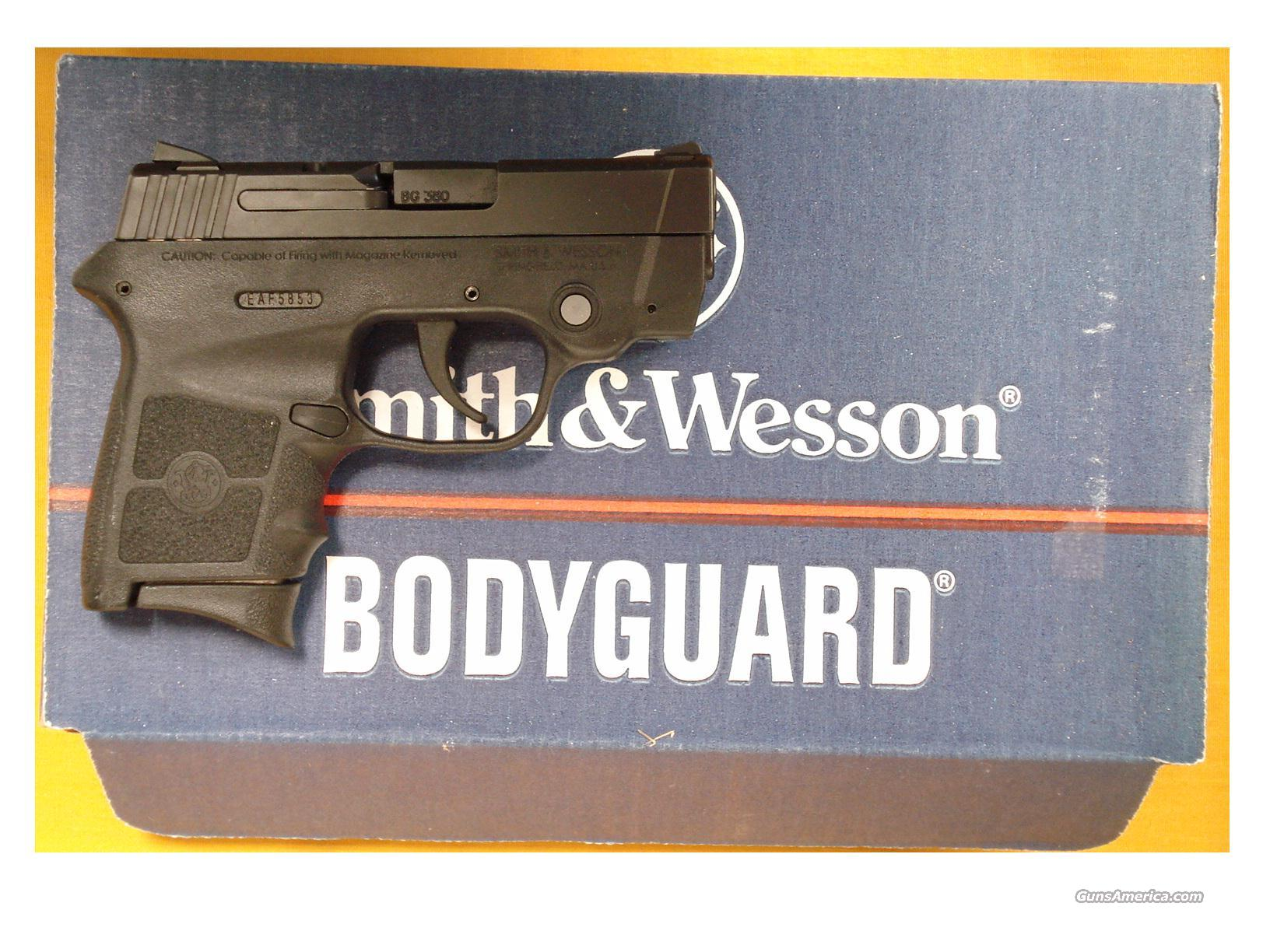 "S&W BODYGUARD ..380 3""BBL LASER  Guns > Pistols > Smith & Wesson Pistols - Autos > Polymer Frame"