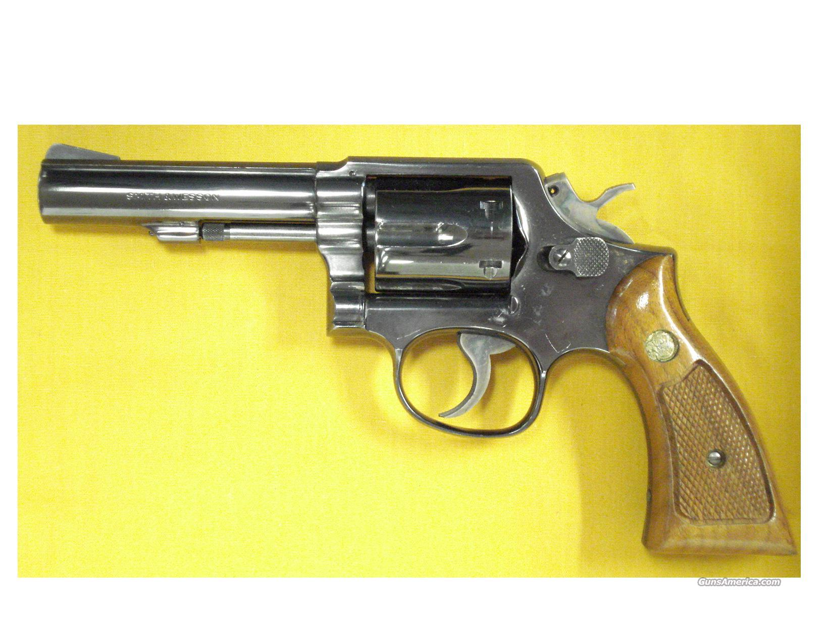 "S&W 13-1 .357 4"" PINNED BARREL  Guns > Pistols > Smith & Wesson Revolvers > Full Frame Revolver"