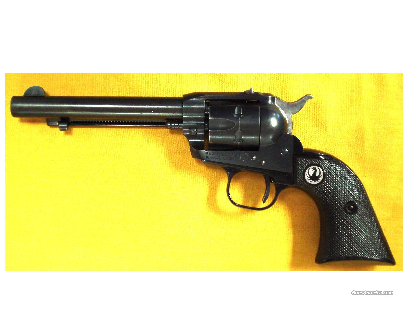 "RUGER SINGLE SIX .22LR 5 1/2"" BBL  Guns > Pistols > Ruger Single Action Revolvers > Single Six Type"