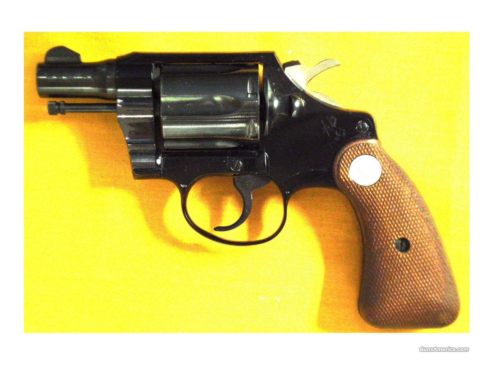 "COLT COBRA FIRST ISSUE .38SPL 2""BBL  Guns > Pistols > Colt Double Action Revolvers- Modern"