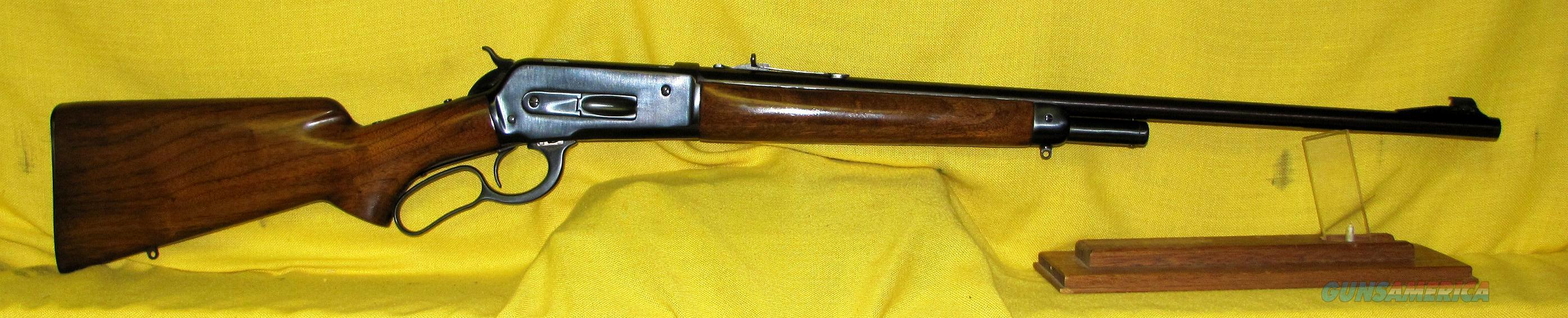 "WINCHESTER 71 .348WIN 24"" BARREL, LONG TANG  Guns > Rifles > Winchester Rifles - Modern Lever > Other Lever > Pre-64"