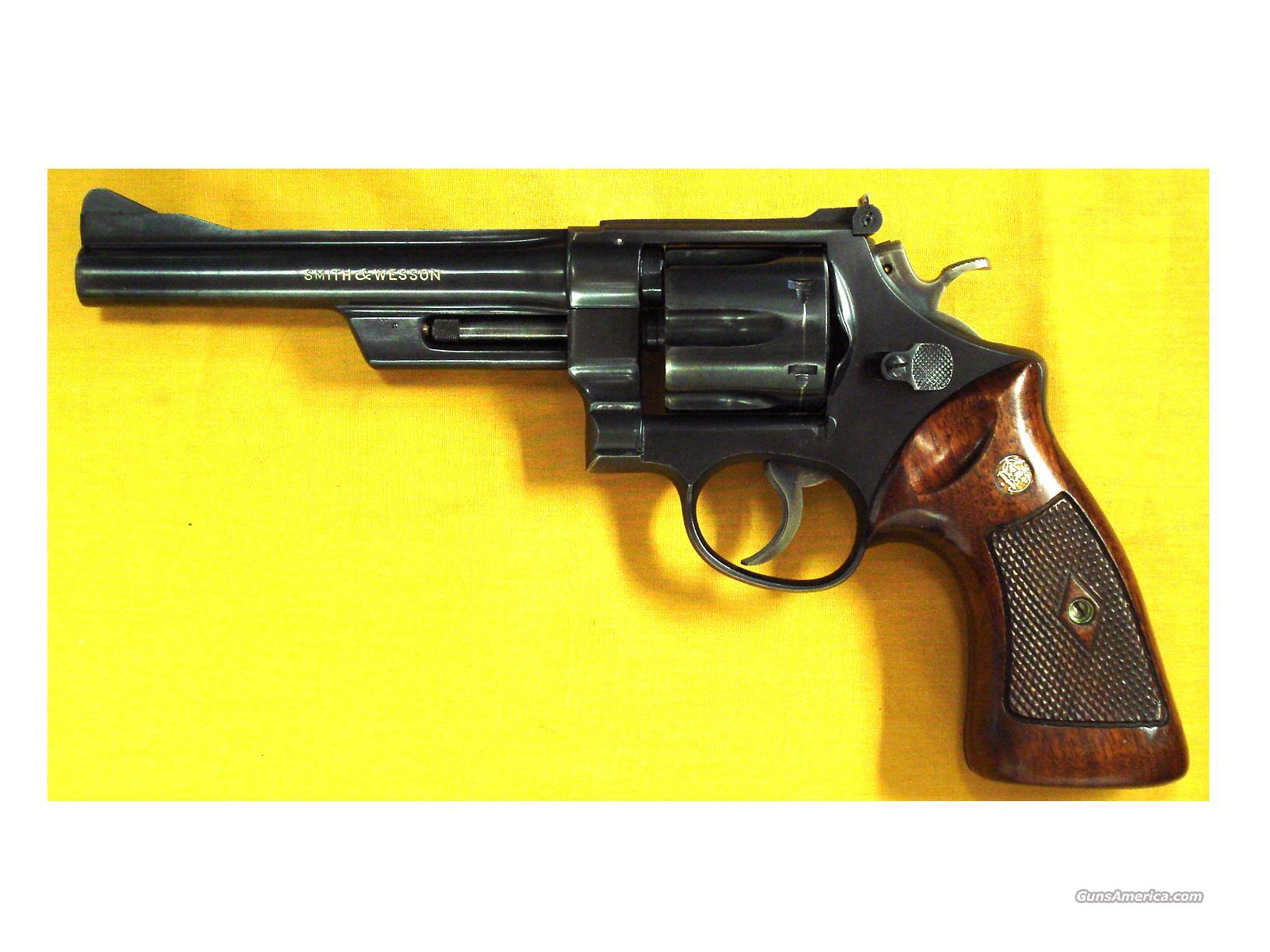 "S&W 28 HIGHWAY PATROOLMAN .357 6""BBL  Guns > Pistols > Smith & Wesson Revolvers > Full Frame Revolver"