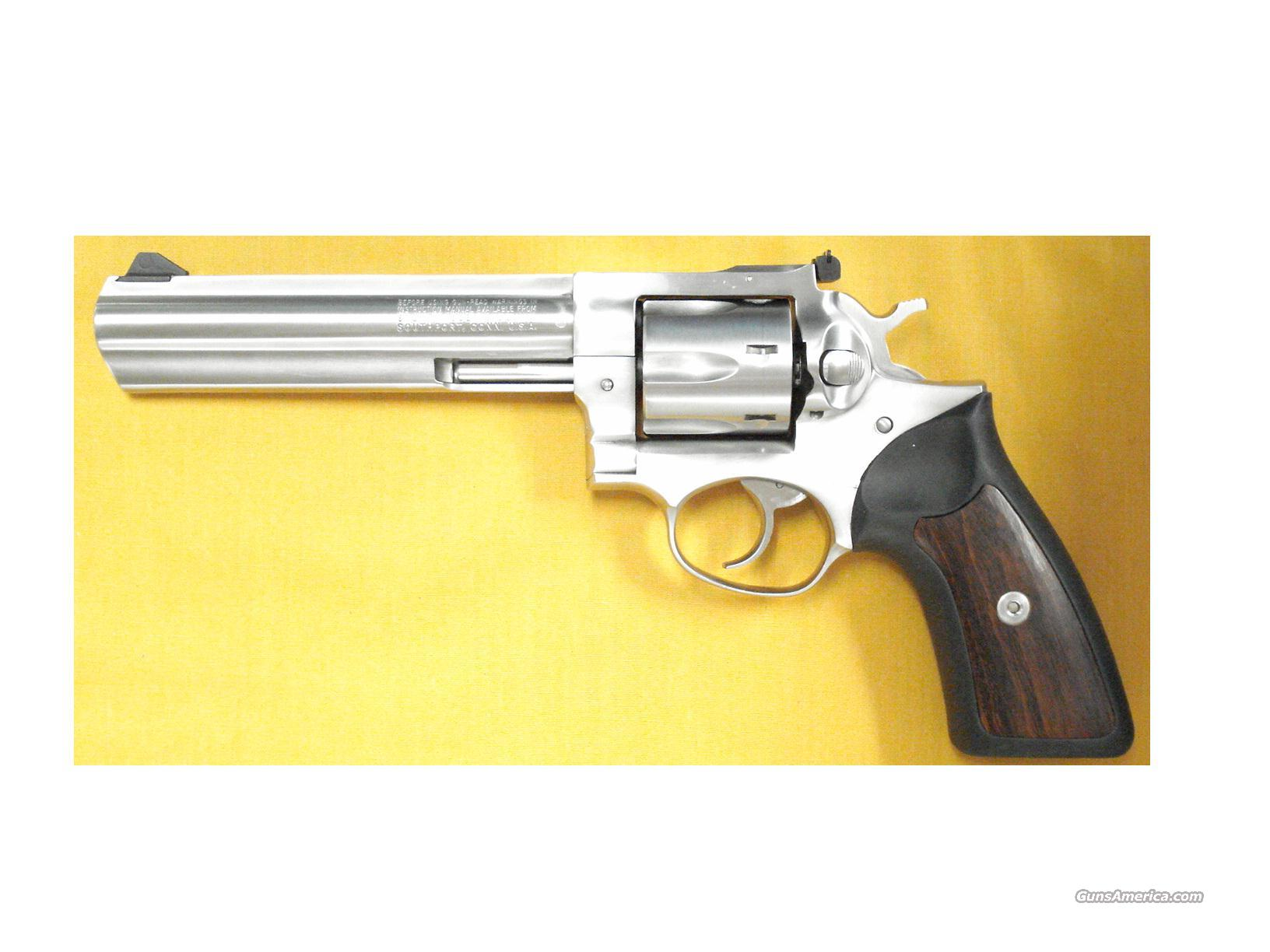 "RUGER GP100 .357 6"" BARREL  Guns > Pistols > Ruger Double Action Revolver > SP101 Type"