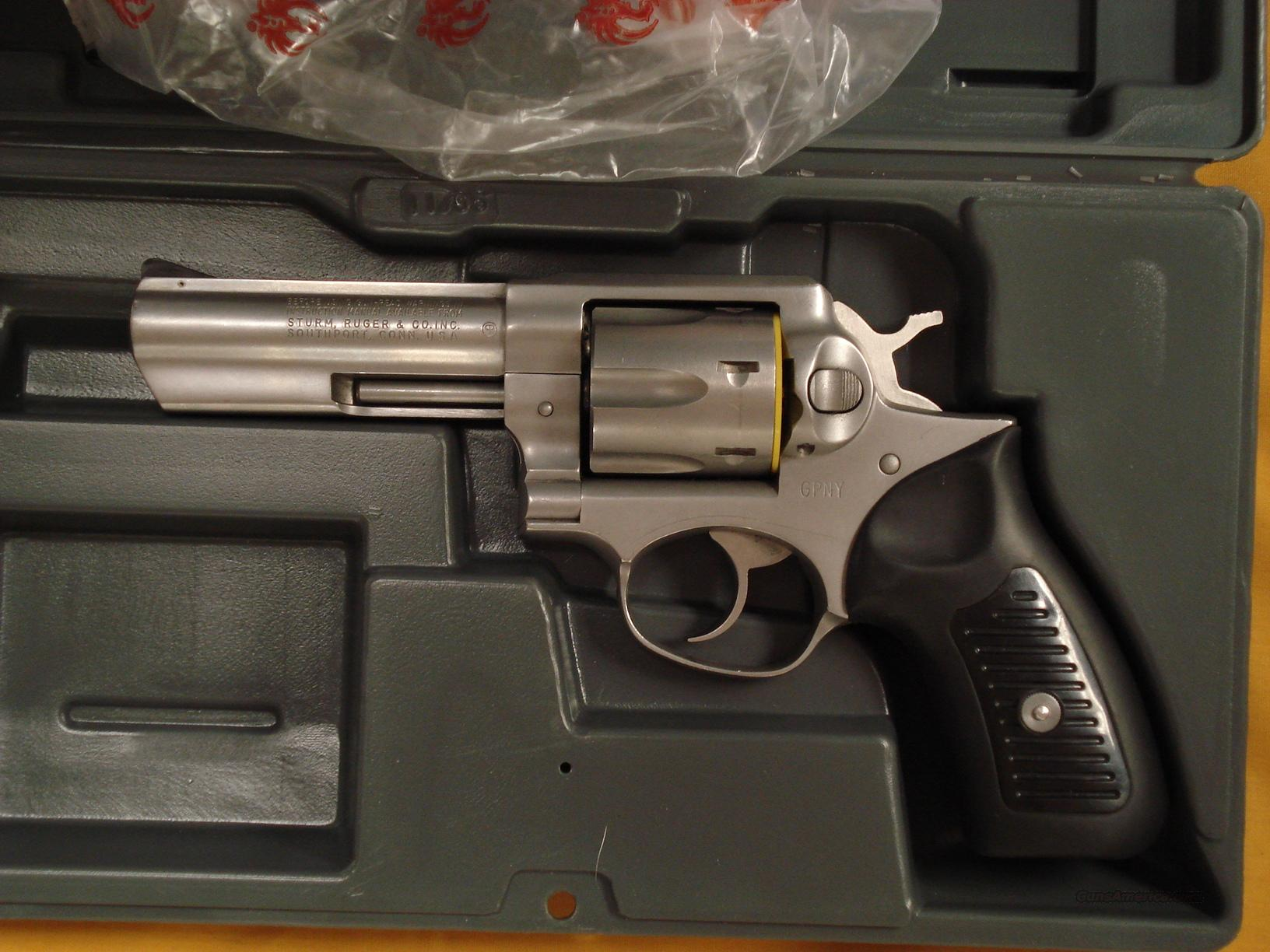 "RUGER GP-100 .38SPL 4""""BBL POLICE MARKED  Guns > Pistols > Ruger Double Action Revolver > SP101 Type"