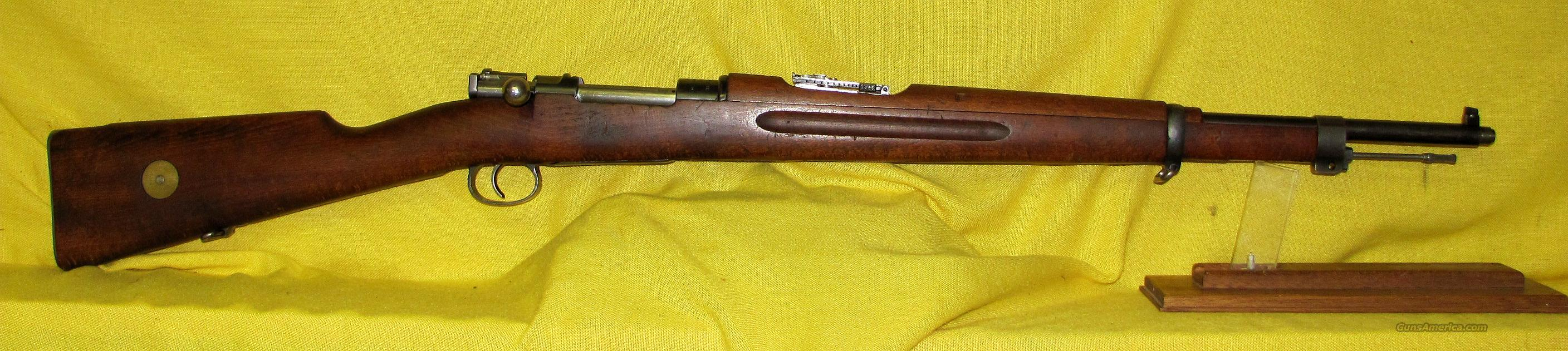 "MAUSER SWEDISH M-38 6.5MM 23 1/2""  Guns > Rifles > Mauser Rifles > German"