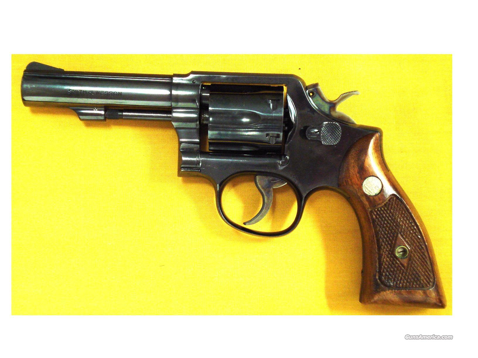 "S&W 10-6 .38SPL 4"" PINNED BARREL   Guns > Pistols > Smith & Wesson Revolvers > Model 10"