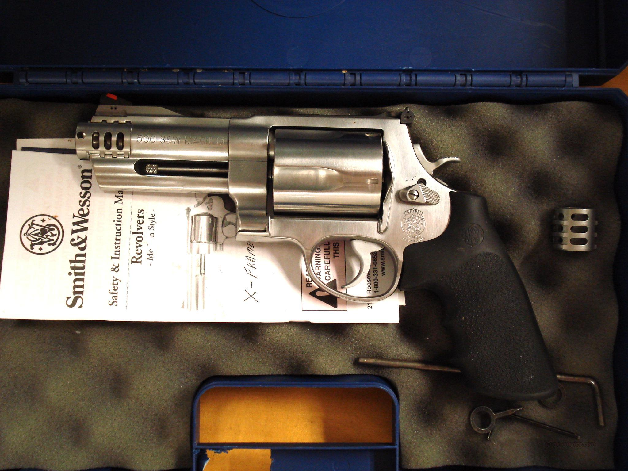 "S&W 500 .50CAL 4"" BARREL  Guns > Pistols > Smith & Wesson Revolvers > Full Frame Revolver"