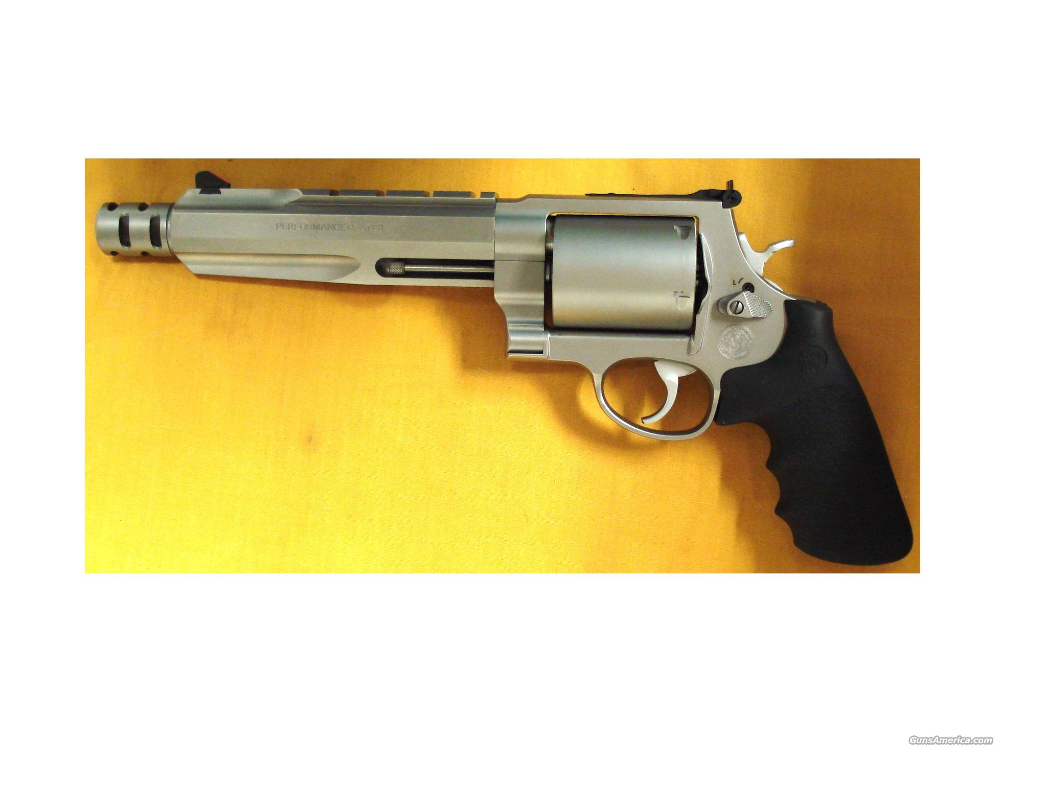 "S&W 500 500S&W 7 1/2"" BBL PLUS/COMP  Guns > Pistols > Smith & Wesson Revolvers > Performance Center"