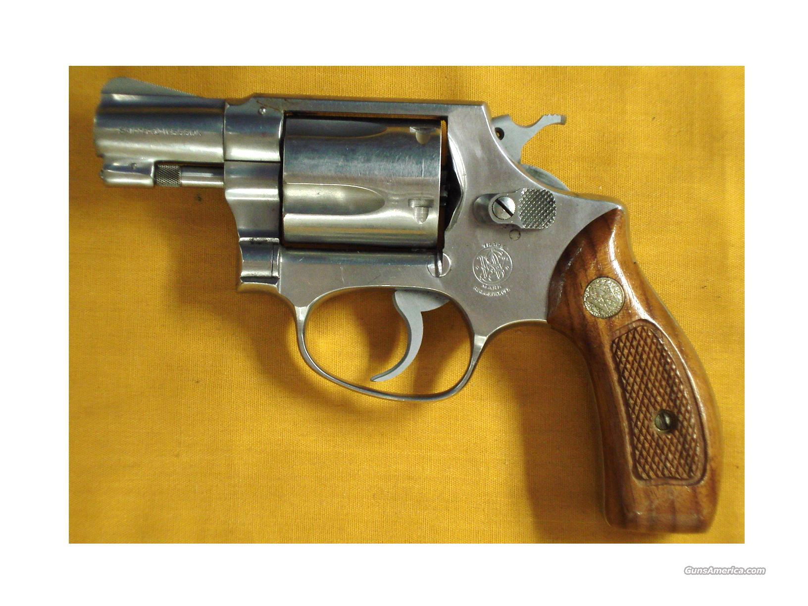 "S&W 60 .38SPL 2"" PINNED BARREL  Guns > Pistols > Smith & Wesson Revolvers > Full Frame Revolver"