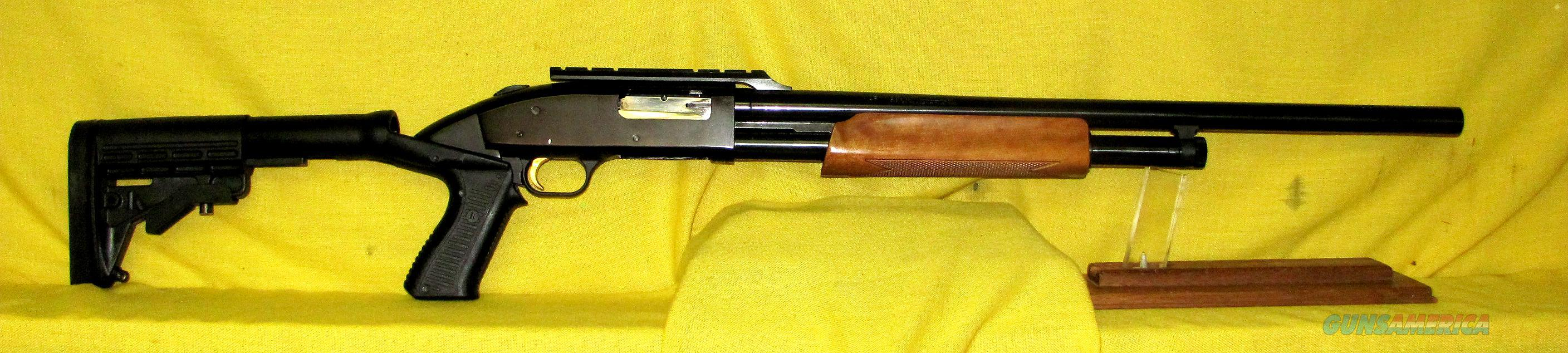 MOSSBERG 500A  Guns > Shotguns > Mossberg Shotguns > Pump > Sporting