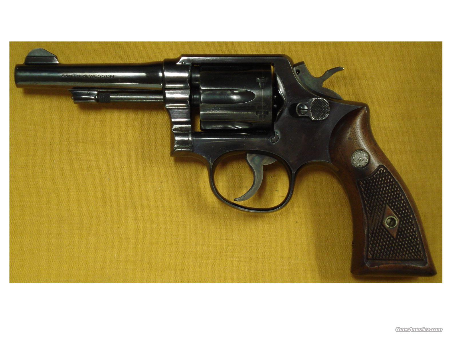 "S&W M&P .38SPL. 4"" PINNED BBL 4 SCREW  Guns > Pistols > Smith & Wesson Revolvers > Full Frame Revolver"