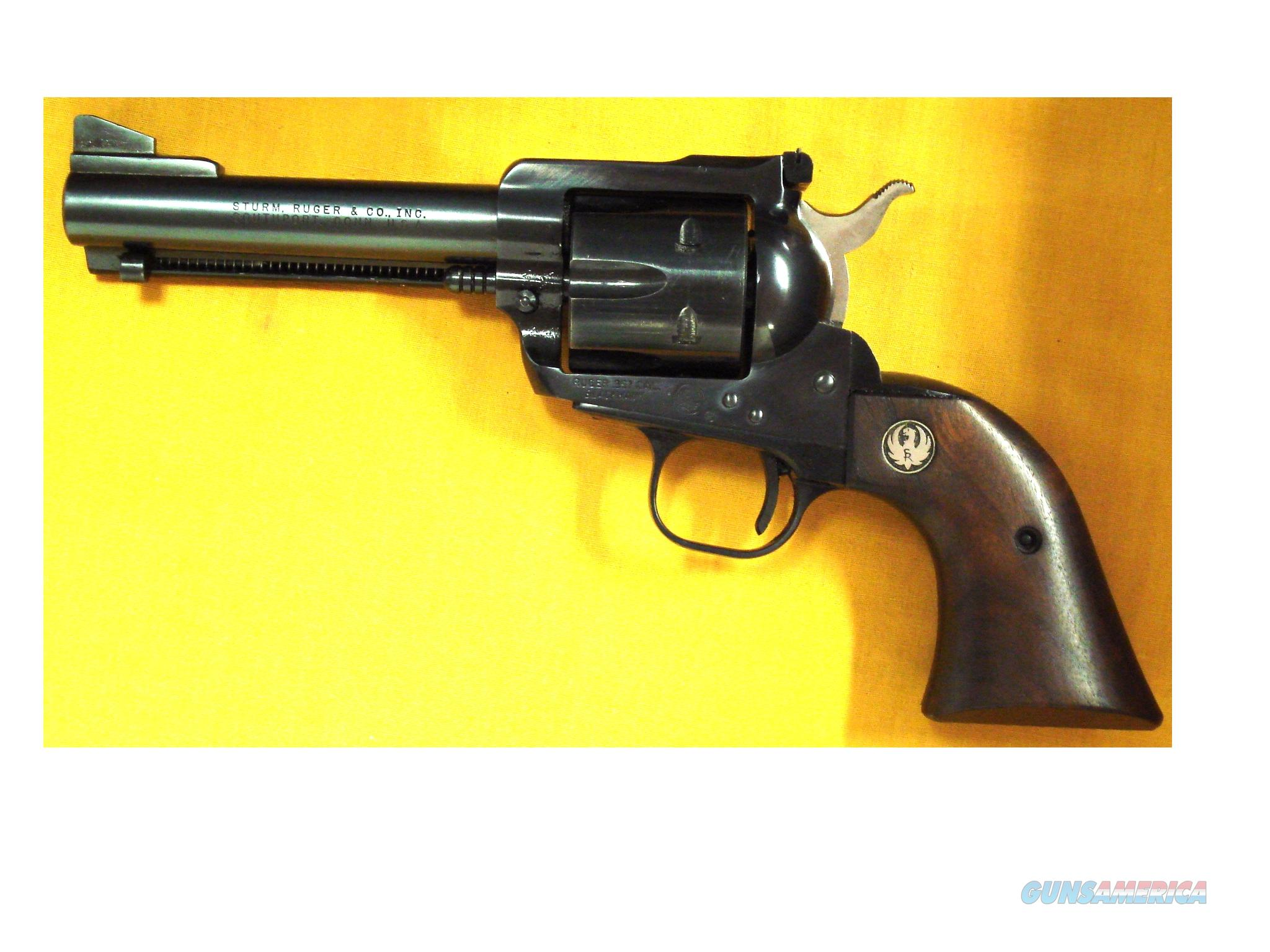 "RUGER BLACKHAWK .357 MAG 4 1/2"" BARREL  Guns > Pistols > Ruger Single Action Revolvers > Blackhawk Type"
