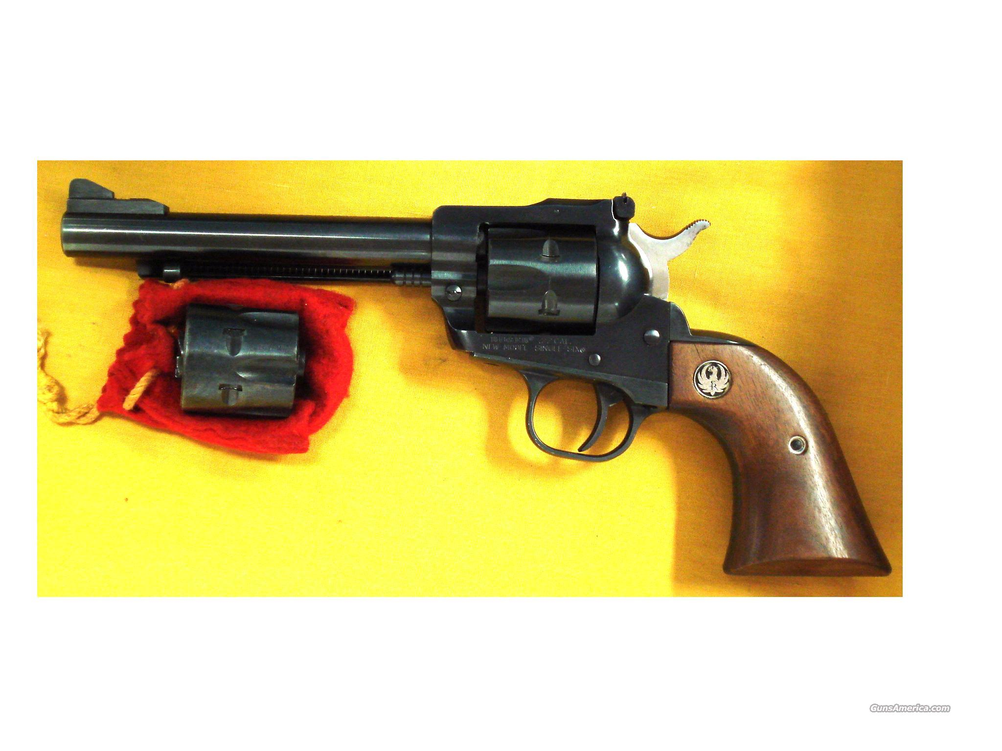 RUGER SINGLE 6 CONVERTABLE .22MAG/22LR  Guns > Pistols > Ruger Single Action Revolvers > Single Six Type