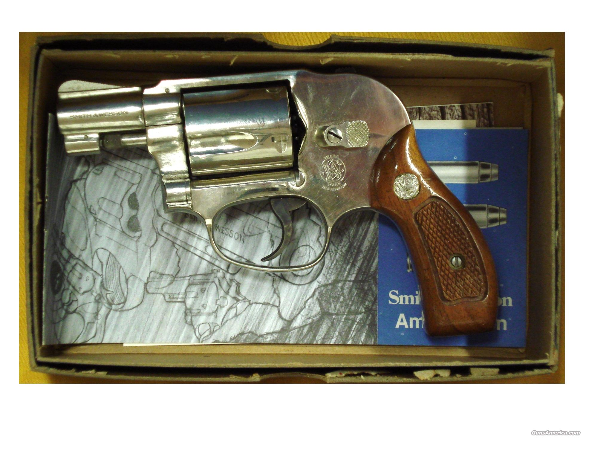 "S&W MOD. 38 AIRWEIGHT .38SPEC. 2"" BBL  Guns > Pistols > Smith & Wesson Revolvers > Full Frame Revolver"