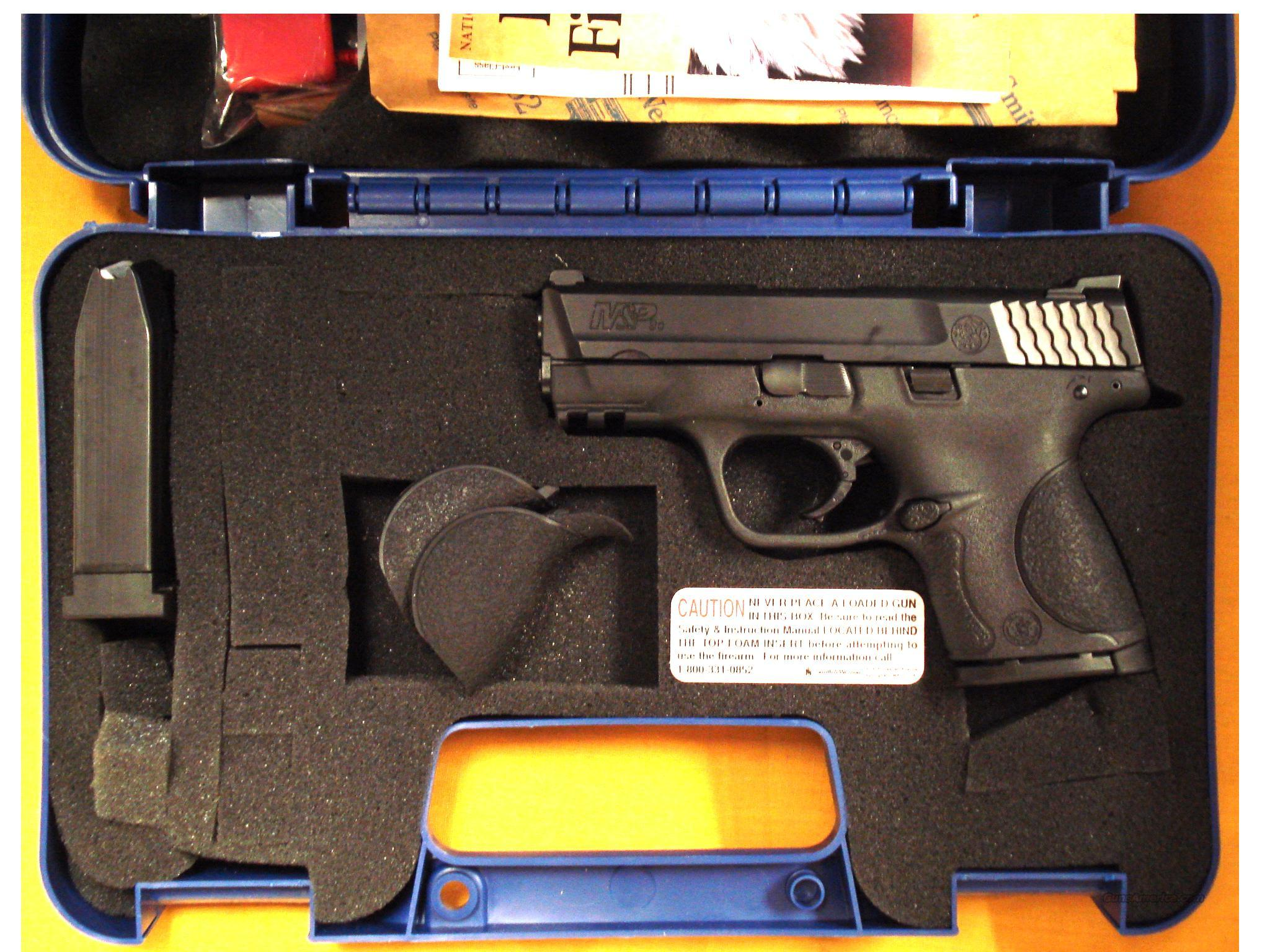 "S&W M&P9C .9MM 3 1/2"" BARREL  Guns > Pistols > Smith & Wesson Pistols - Autos > Polymer Frame"