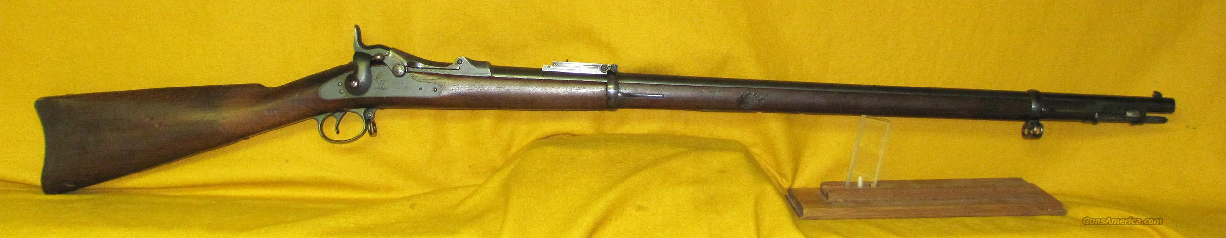 US SPRINGFIELD 1884 ( TRAP DOOR )  Guns > Rifles > Military Misc. Rifles US > Pre-1900