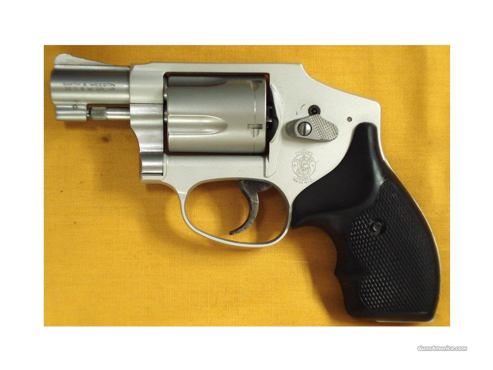 "S&W 642 AIRWEIGHT .38SPL. 2""BARREL  Guns > Pistols > Smith & Wesson Revolvers > Full Frame Revolver"