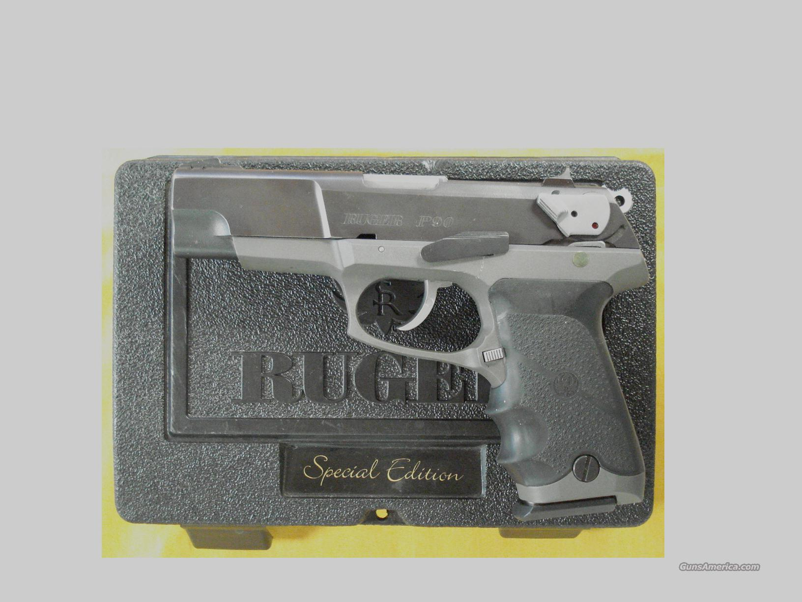 RUGER P90 SPECIAL EDITION .45ACP  Guns > Pistols > Ruger Semi-Auto Pistols > P-Series