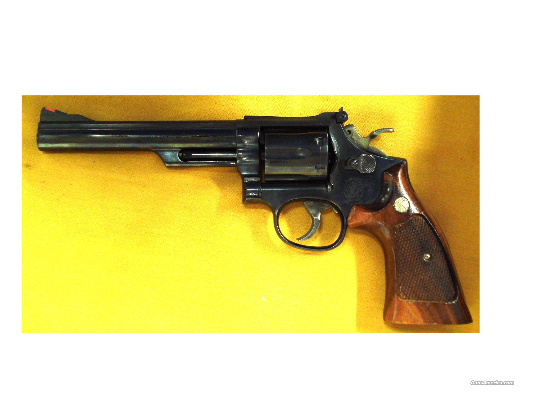 "S&W 19-5 .357 6"" BARREL  Guns > Pistols > Smith & Wesson Revolvers > Full Frame Revolver"
