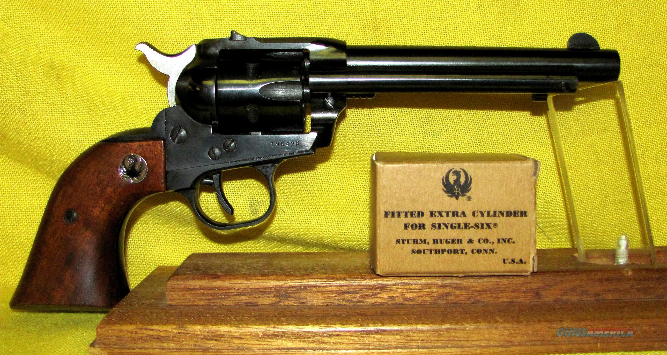 RUGER (PRE WARNING) SINGLE SIX  Guns > Pistols > Ruger Single Action Revolvers > Single Six Type