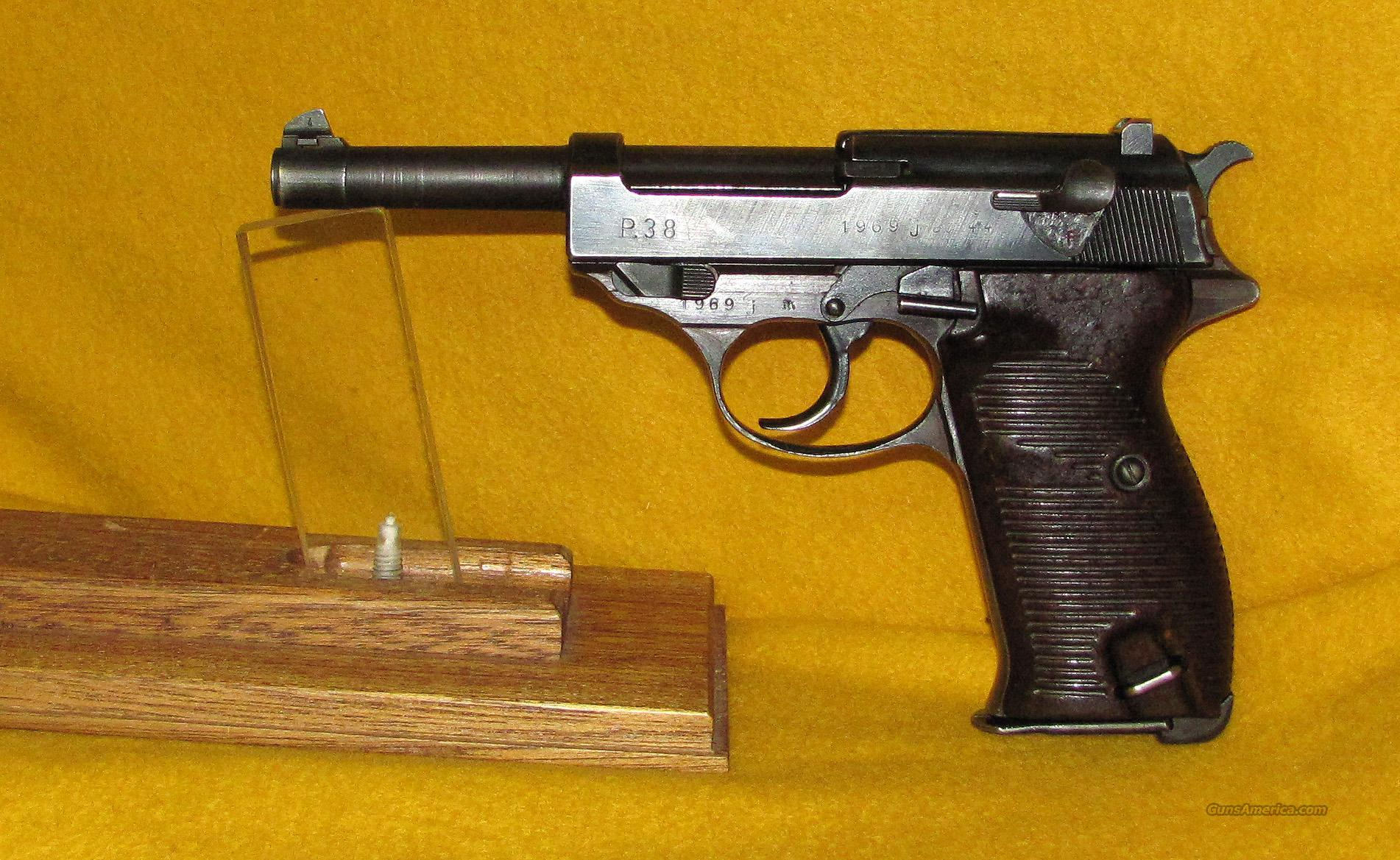 WALTHER AC 44  Guns > Pistols > Walther Pistols > Pre-1945 > P-38