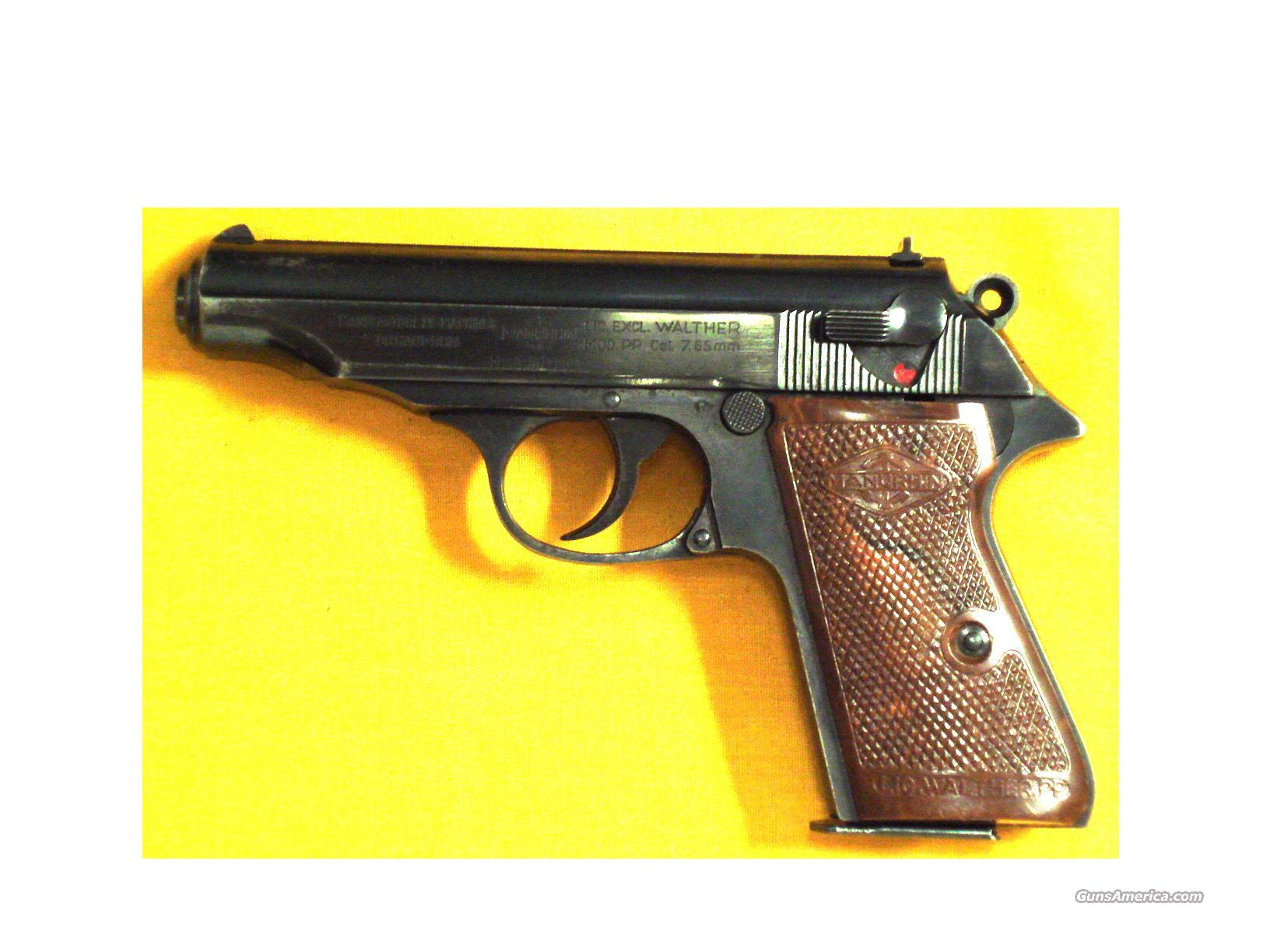 "MANURHIN PP .32ACP 3 3/4"" BARREL  Guns > Pistols > Walther Pistols > Post WWII > PPS"