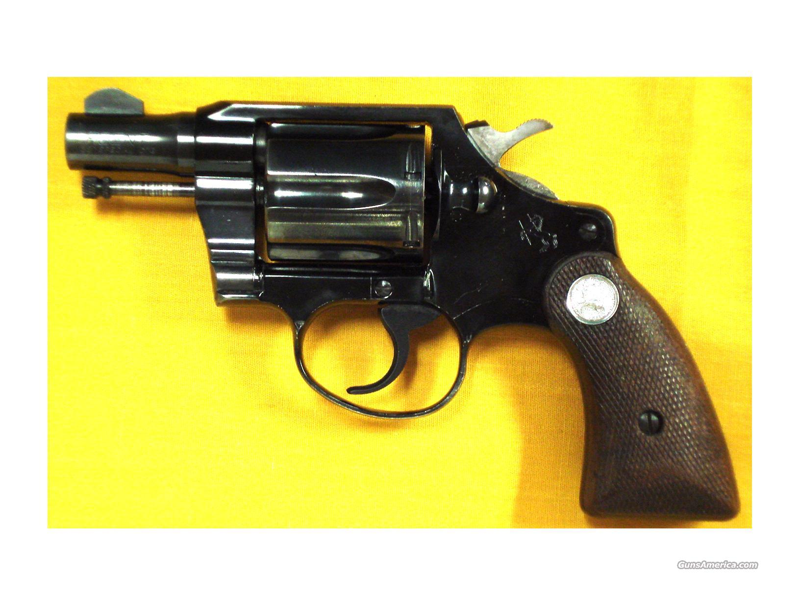"COLT AGENT FIRST ISSUE .38 2""BBL  Guns > Pistols > Colt Double Action Revolvers- Modern"
