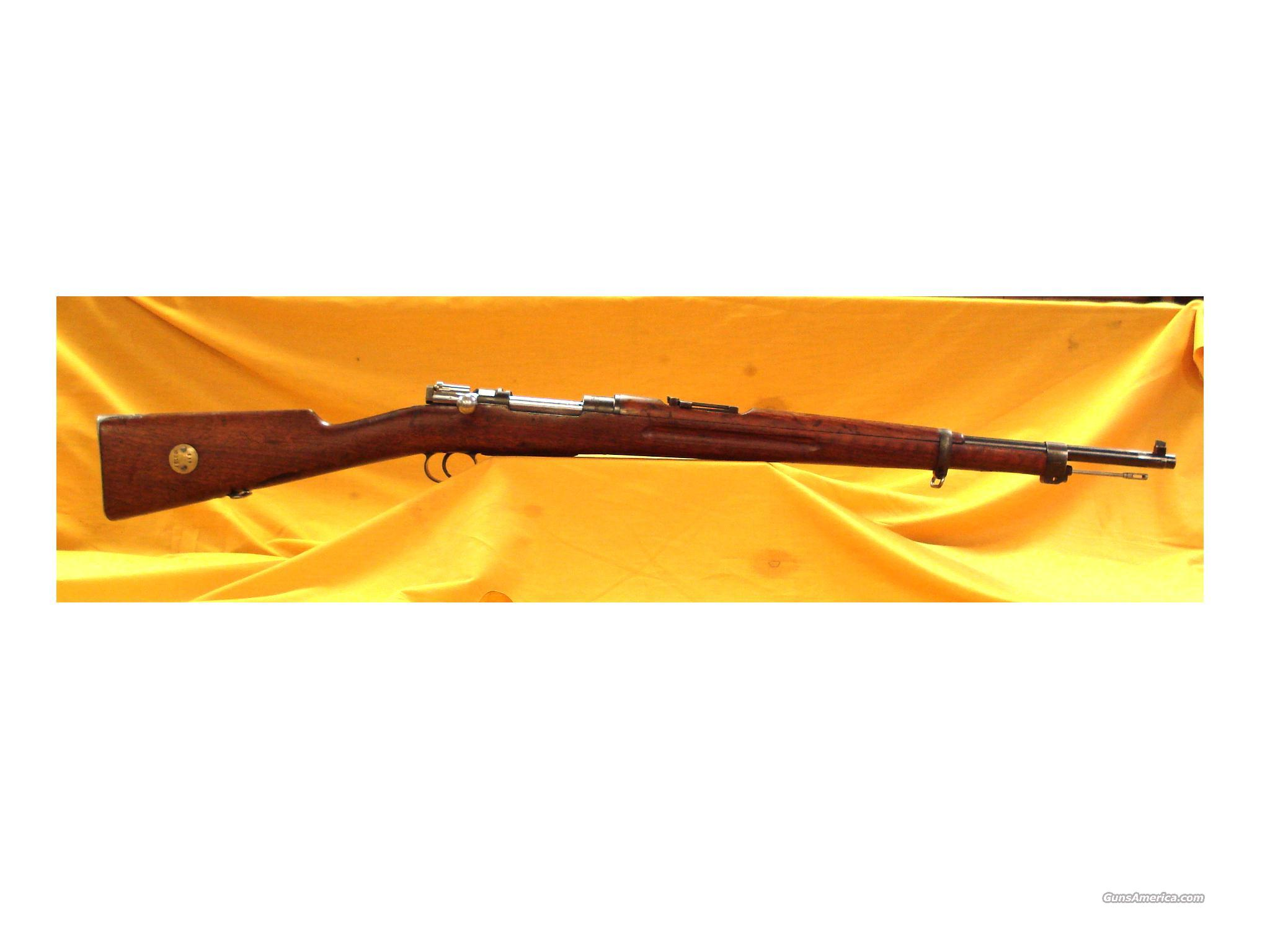 SWEDISH M38 BY GUSTAFS 6.5MM 1916  Guns > Rifles > Military Misc. Rifles Non-US > Other